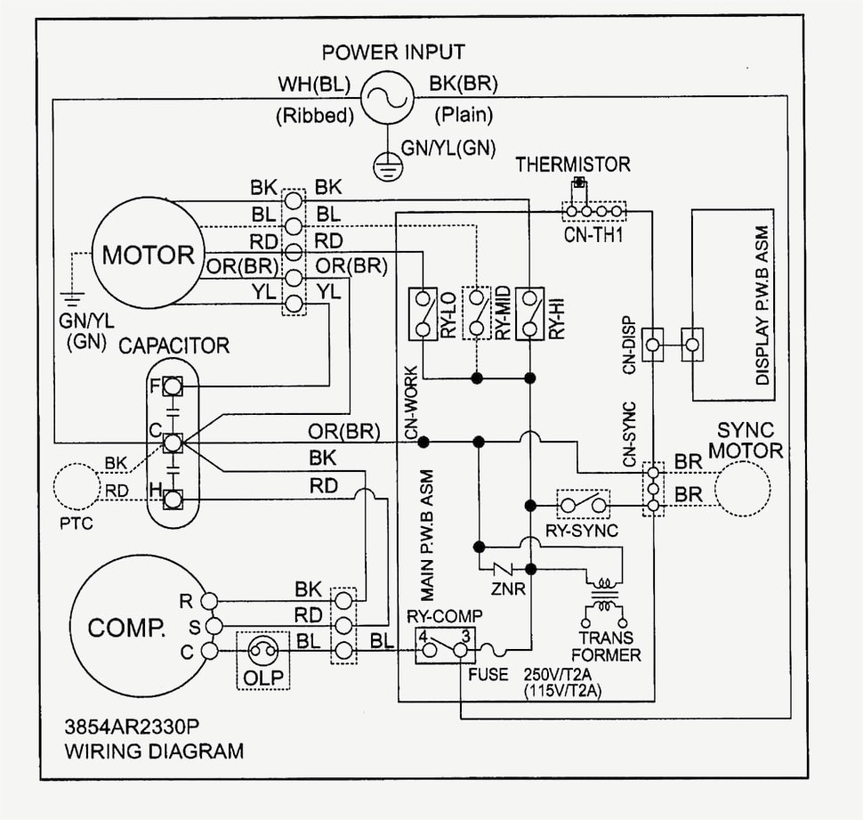 Dual Capacitor For Ac Condenser Wiring Diagram Diy Enthusiasts Run Cap Wiring Hvac Training Dual Run Capacitor Wiring