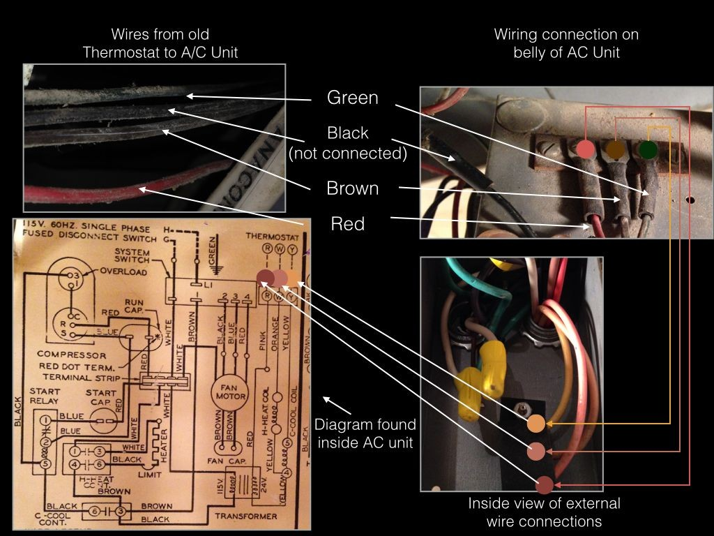 Red Dot Air Conditioner Wiring Diagram For Central Conditioning Libraryred Ac Diagrams U2022