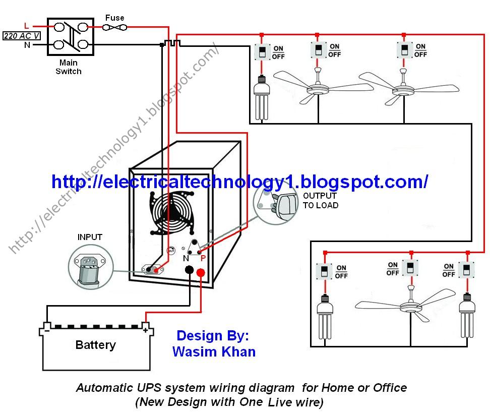 Inverter Wiring Diagram