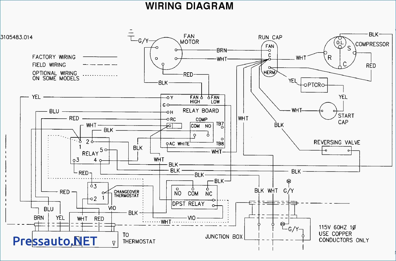 Air Conditioner Thermostat Wiring Diagram Webtor Me Endear Ac