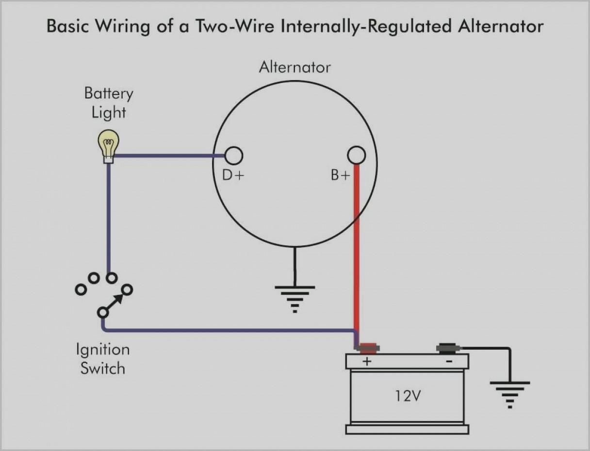 12 Alternator Warning Light Wiring Diagram