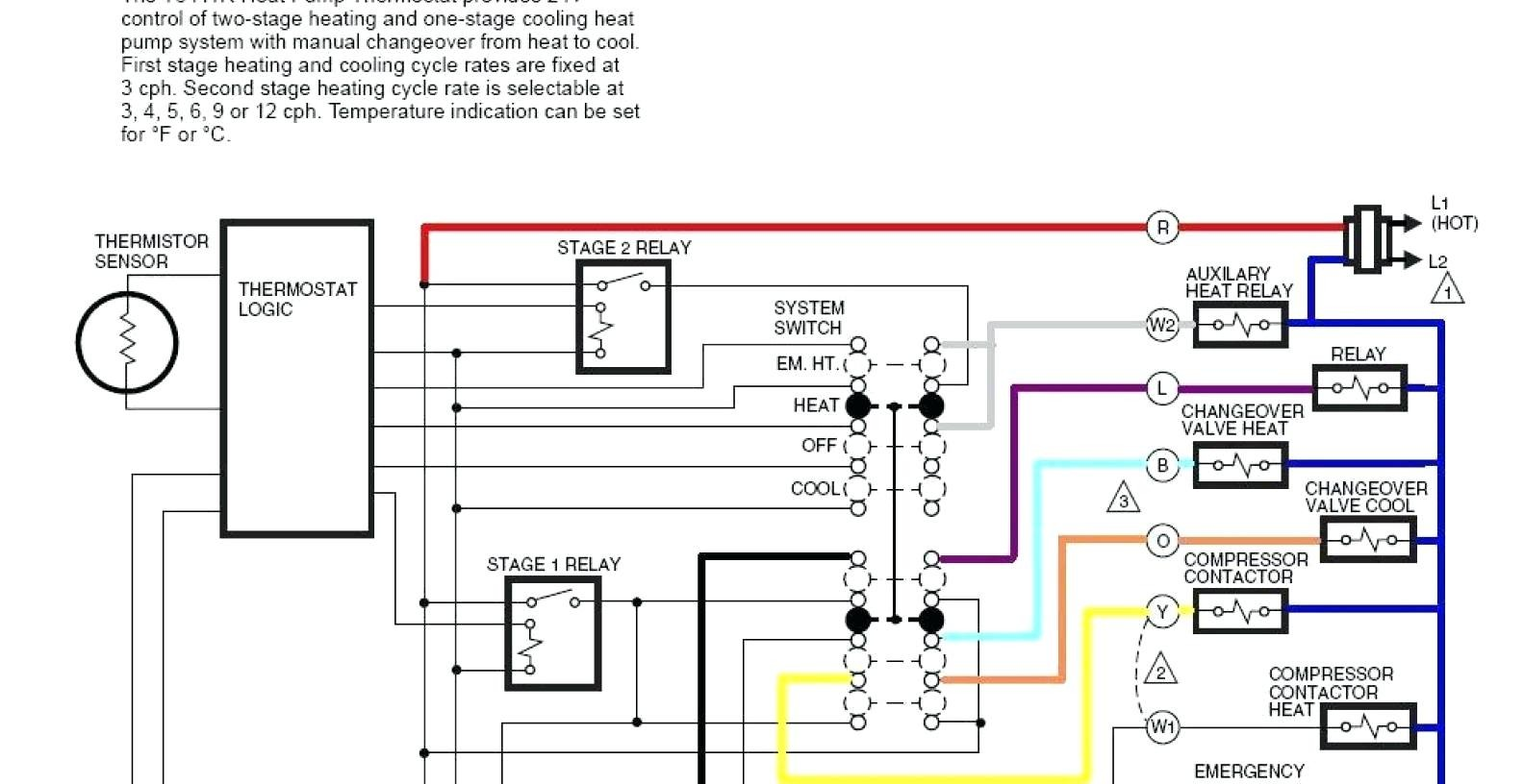 American Standard Air Handler Wiring Diagram from mainetreasurechest.com