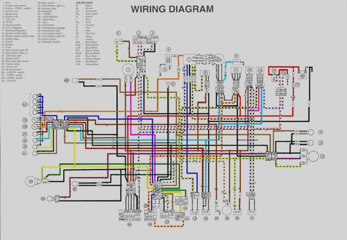 Wire Harness Diagram Recibosverdes