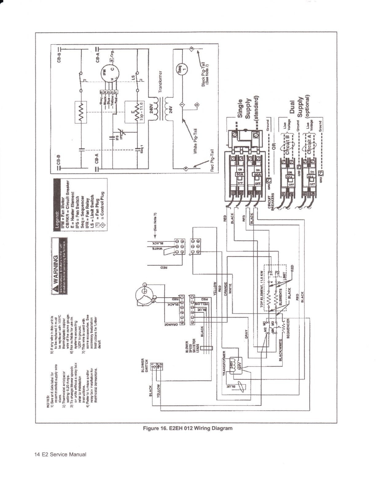New Electric Furnace Wiring Diagram Sequencer