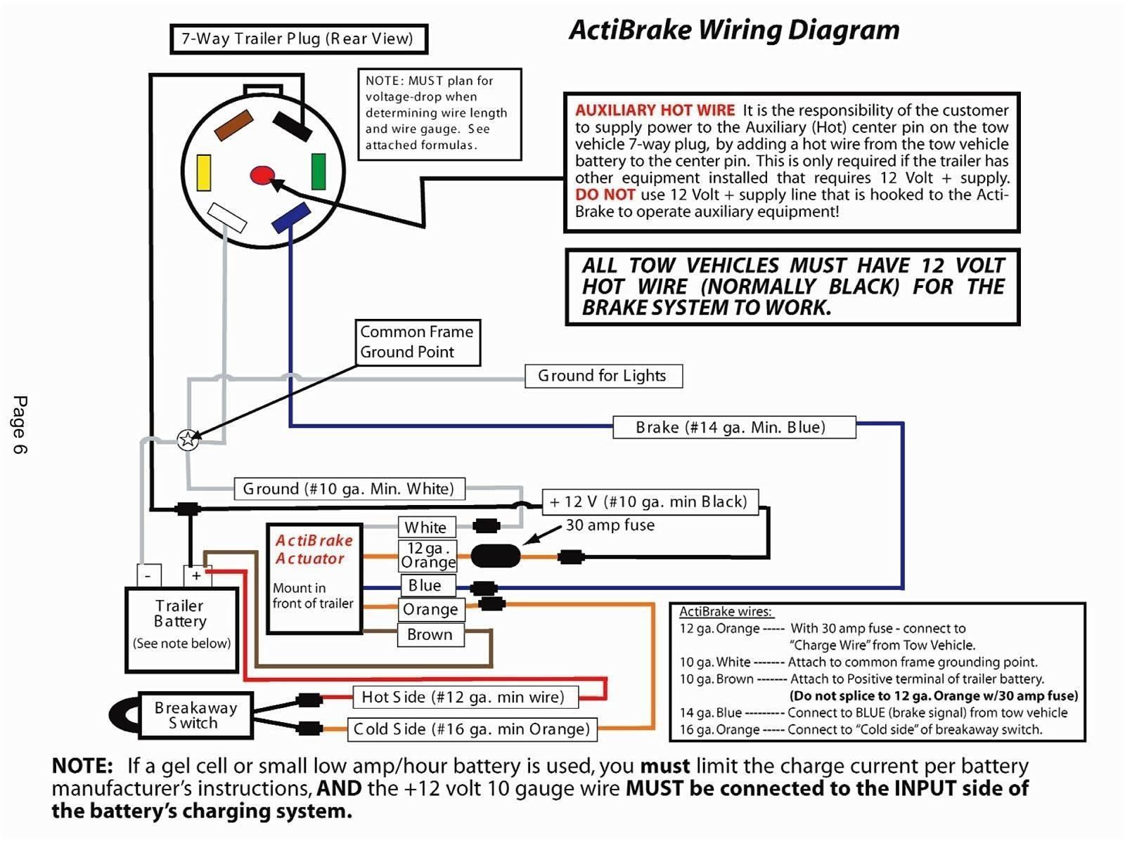 Wiring Diagram Trailer Brakes Save Reese Trailer Wiring Diagram Valid Reese  Brake Controller Wiring