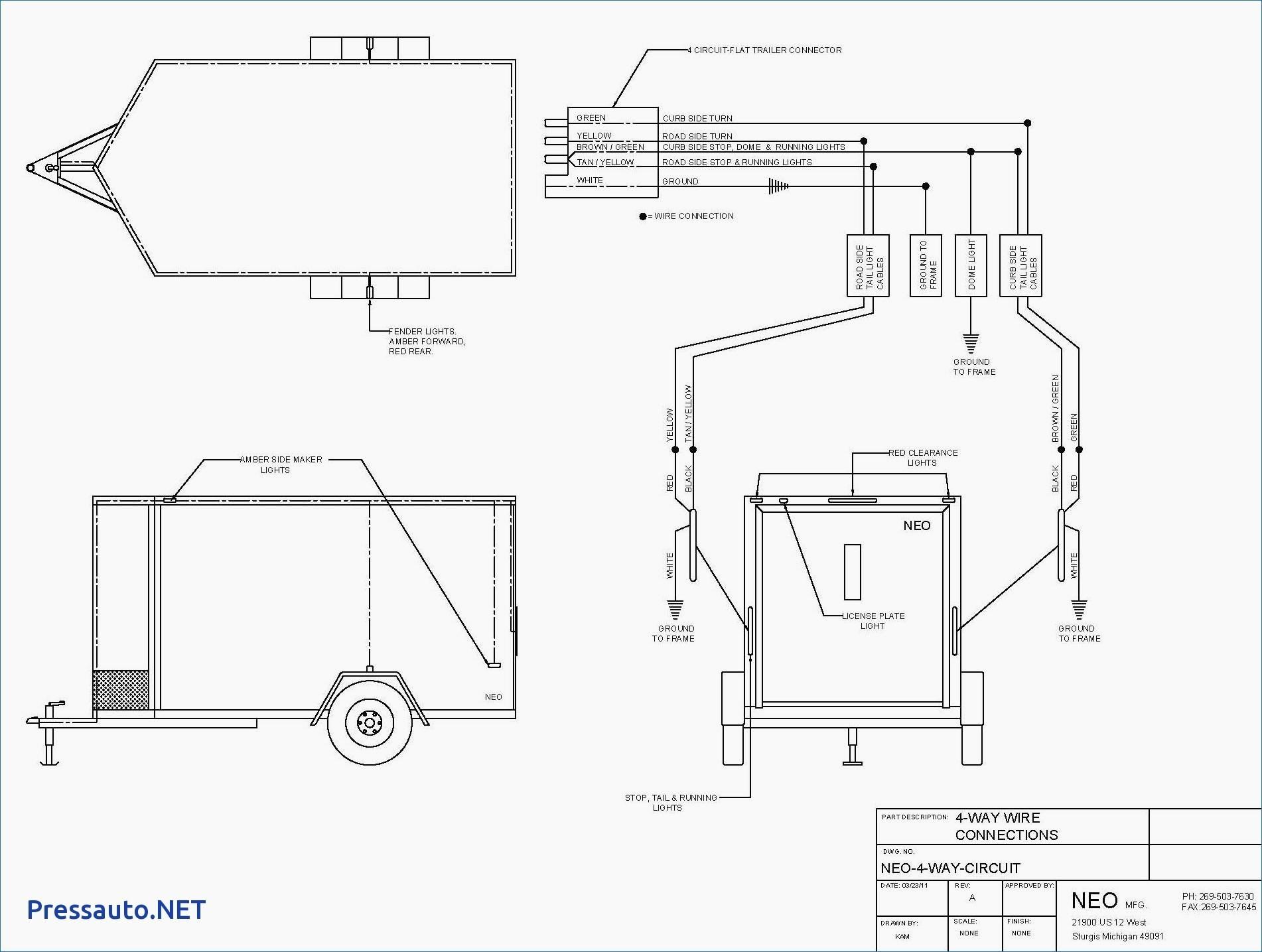 Trailer Connector Wiring Diagram Luxury Wiring Diagram Big Tex Trailer Copy Fantastic Big Tex Trailer