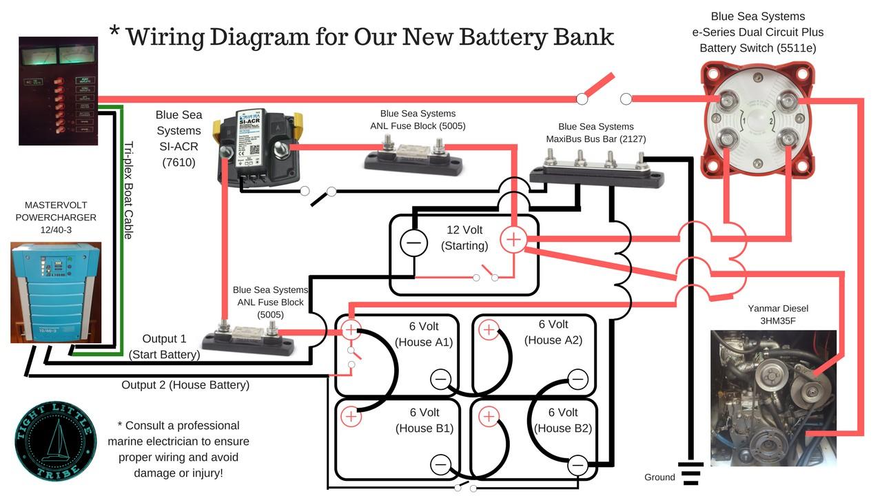 blue sea fuse block wiring diagram elegant wiring Automatic Charging Relay Wiring Diagram Blue Sea 7650 Installation