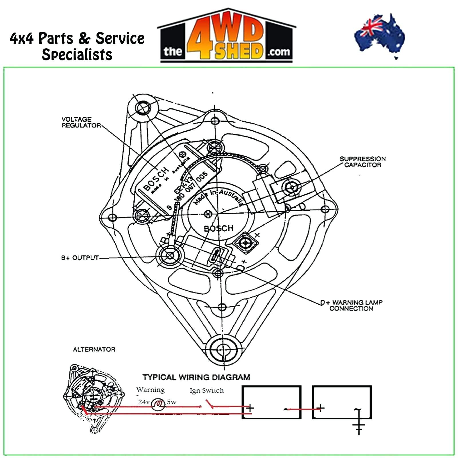 bosch alternator wiring diagram awesome wiring diagram imagedenso alternator wiring pig l solutions