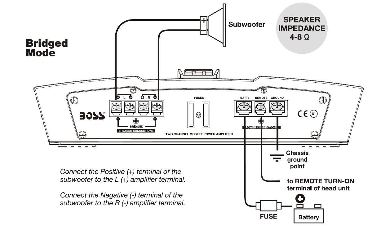 Boss Subwoofer Wiring Diagram Amplifier Bv9362bi Inspirational Image Rca Car Audio Diagrams