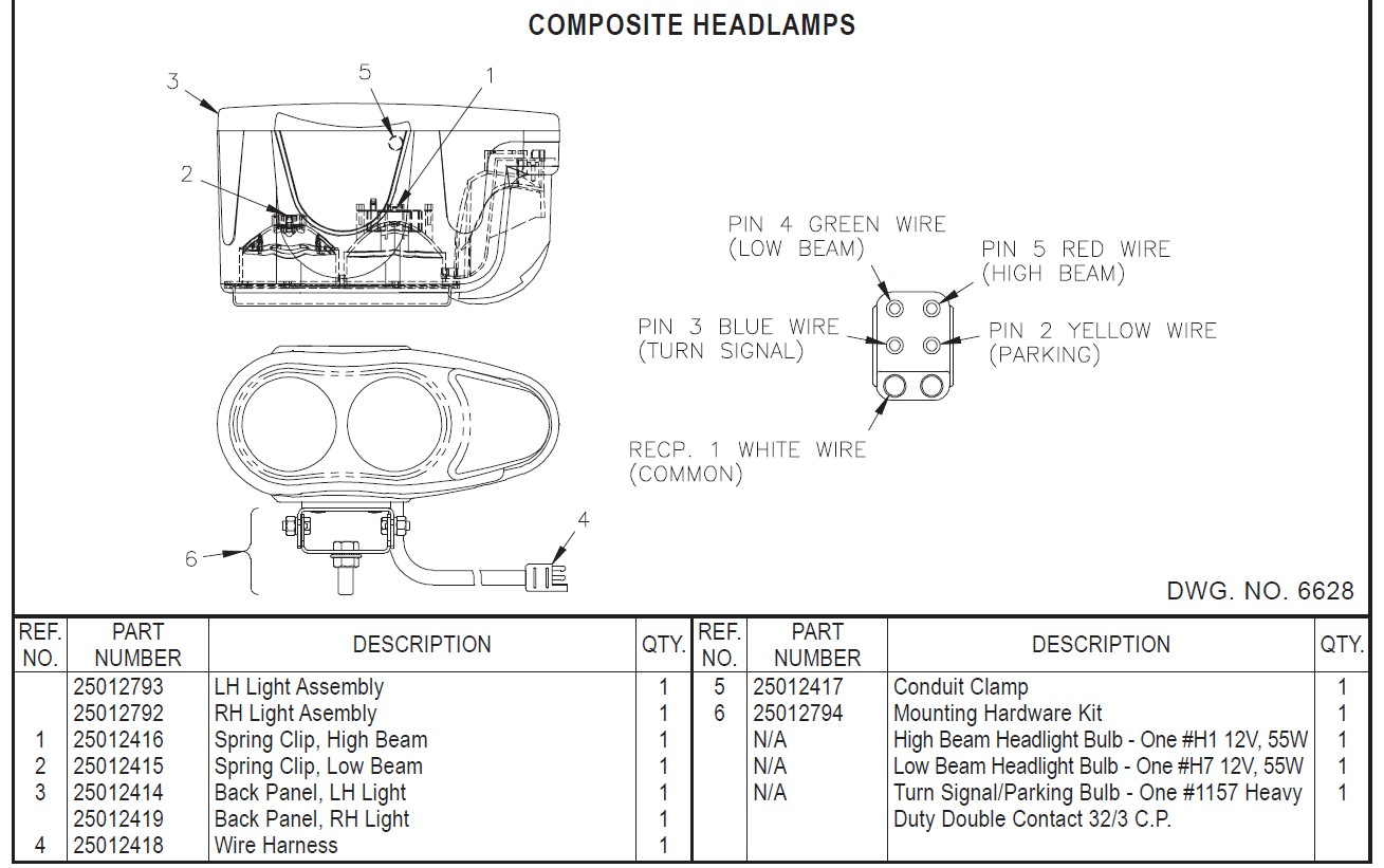 Plow Light Wiring Diagram 4 Pin Snow Power Unit Boss Lights Harness To Libraryboss Rt3 V Solutions