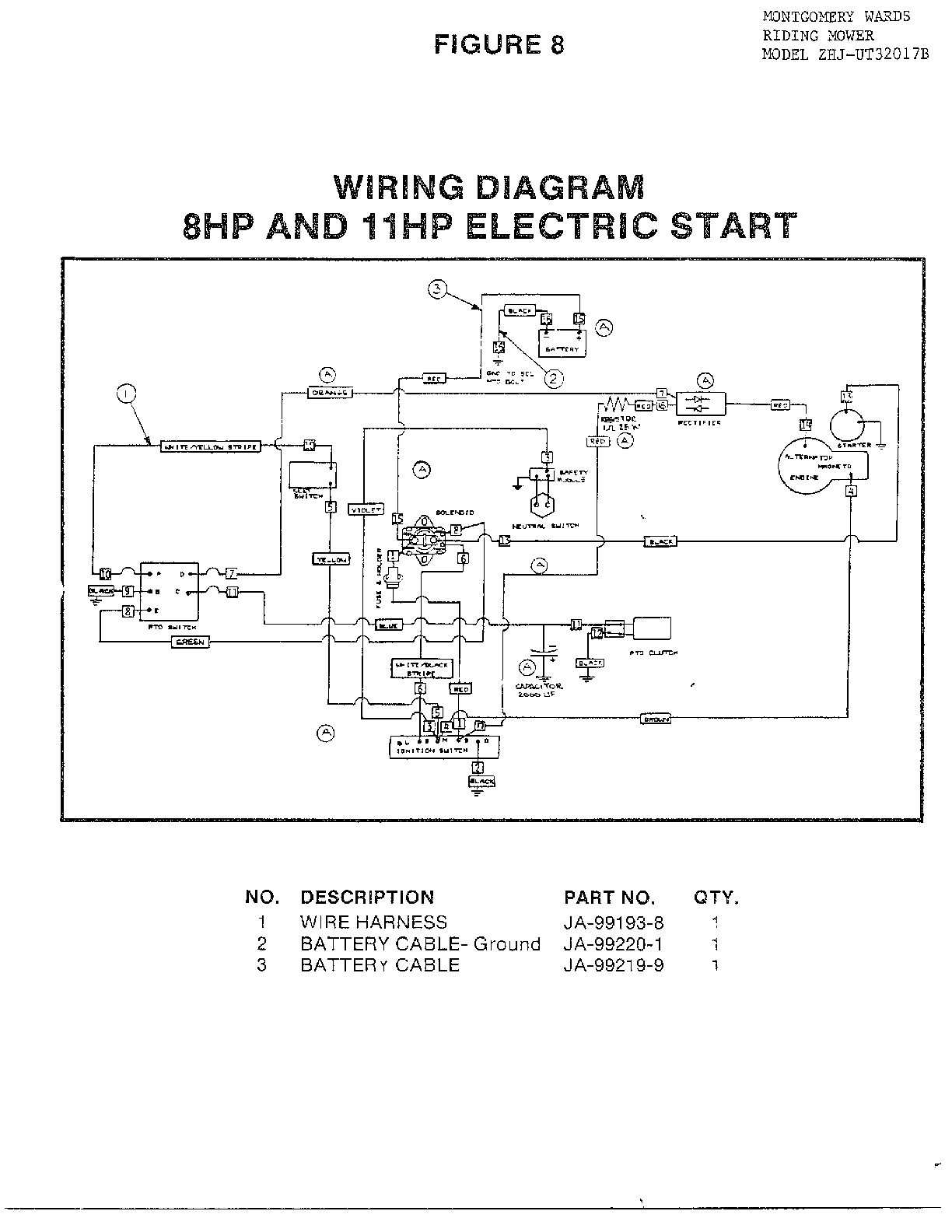 Briggs And Stratton 12 5 Hp Wiring Diagram Reinvent Your Lawn Mower Ignition Switch On Engine 16 Zef Jam Rh Zefjam Net