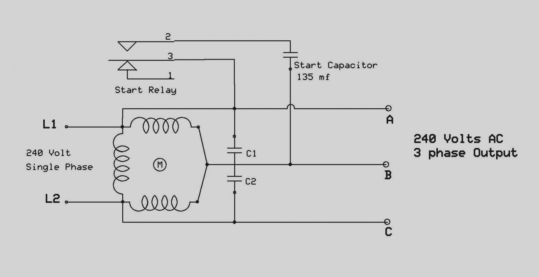 3 Phase Dual Voltage Motor To 240v Wiring Diagram - Download Wiring ...