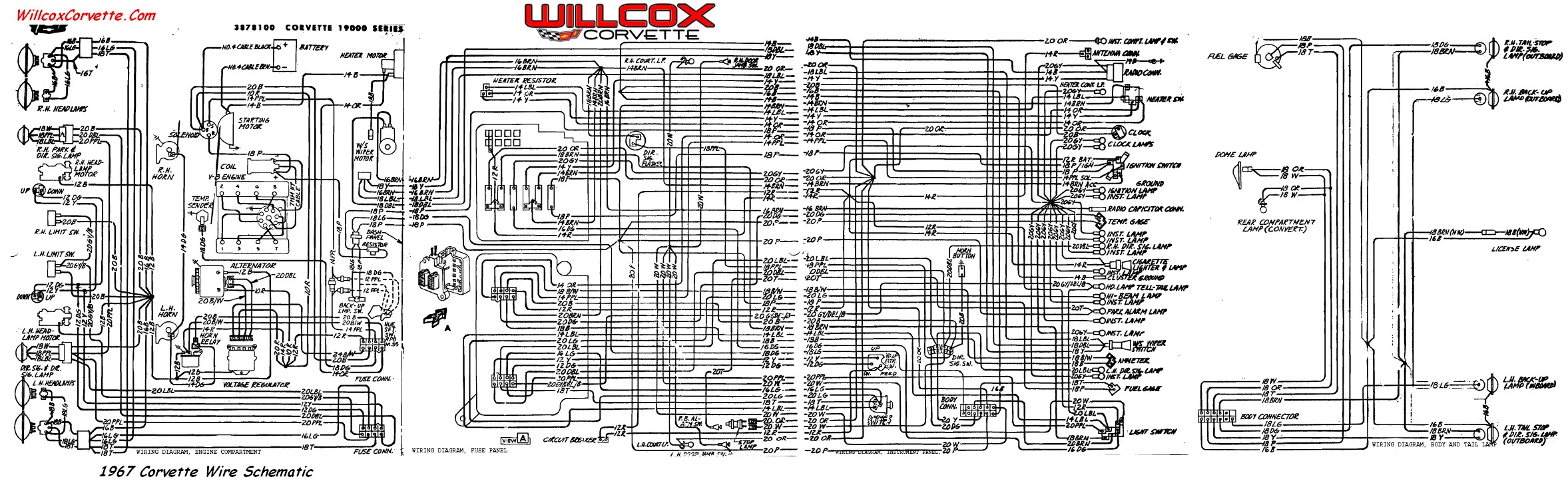 80 corvette wiring diagram diagram schematic rh yomelaniejo co 83 Corvette Wiring Schematic 1984 Corvette Wiring Schematic