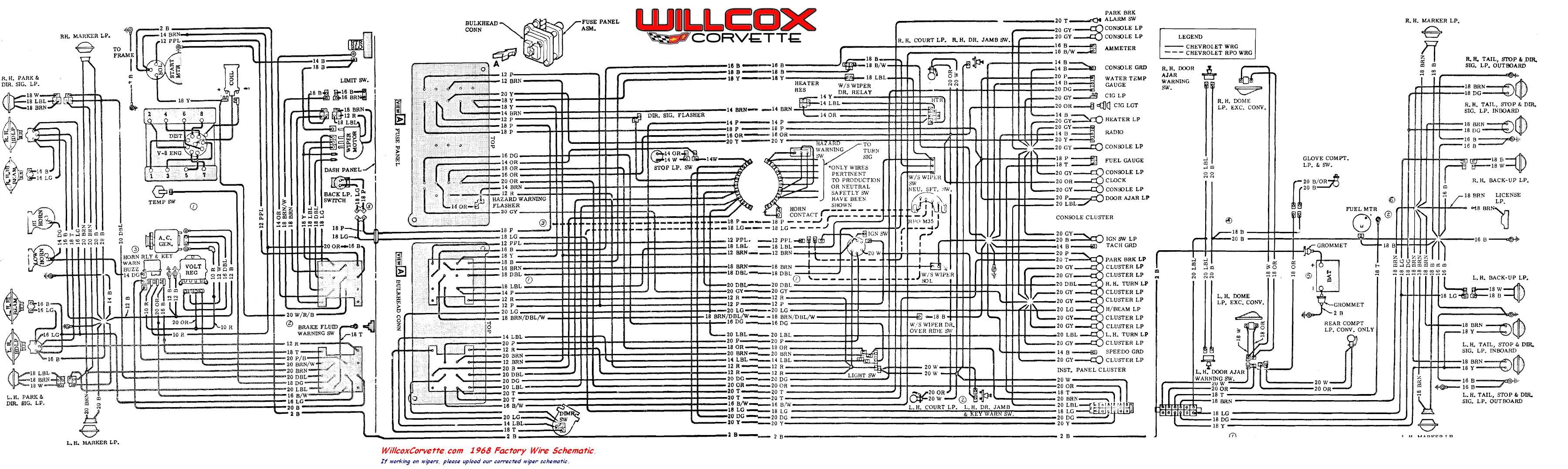 1972 Corvette Wiring Diagram - Illustration Of Wiring Diagram •