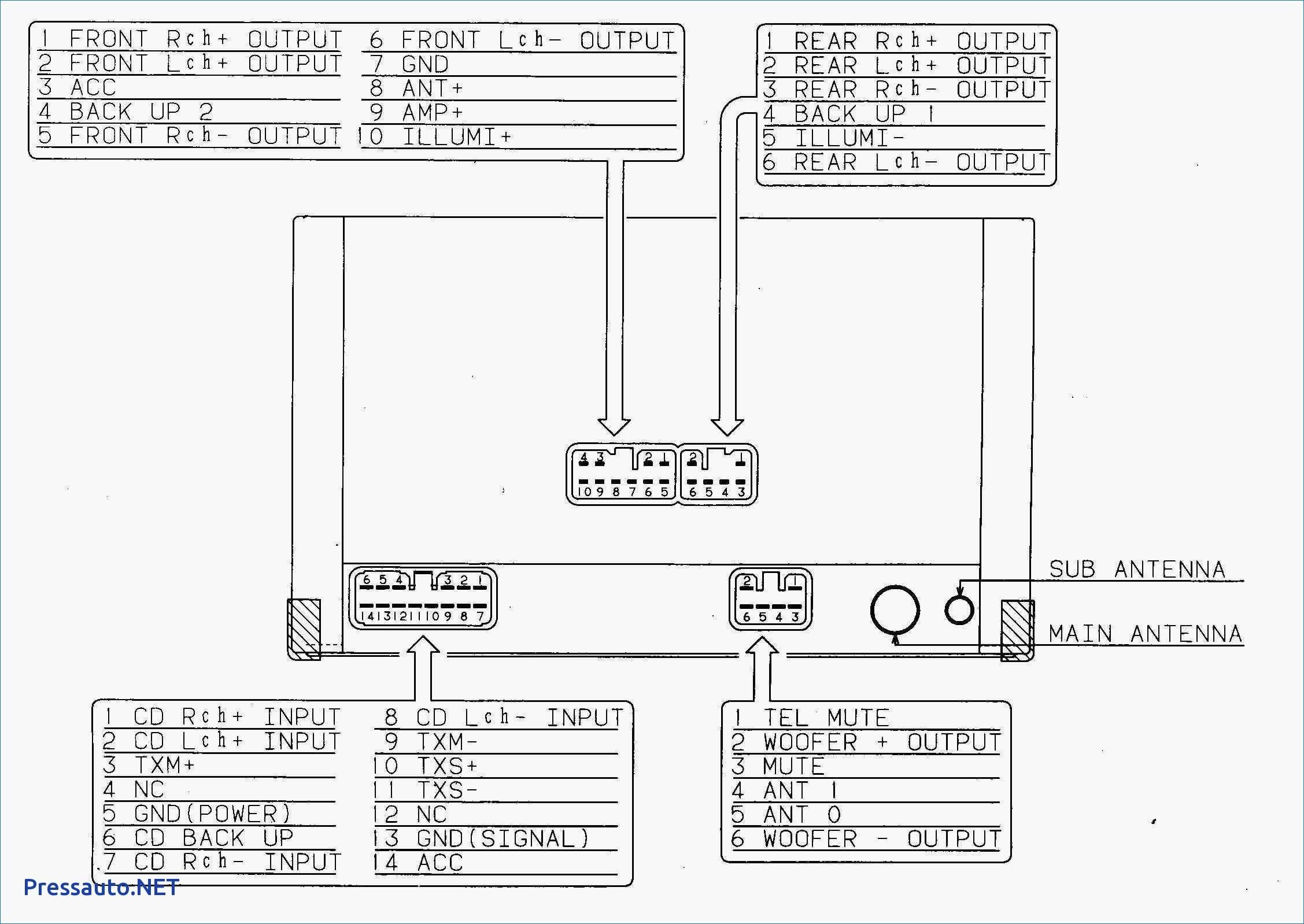 Clarion car radio wiring diagram