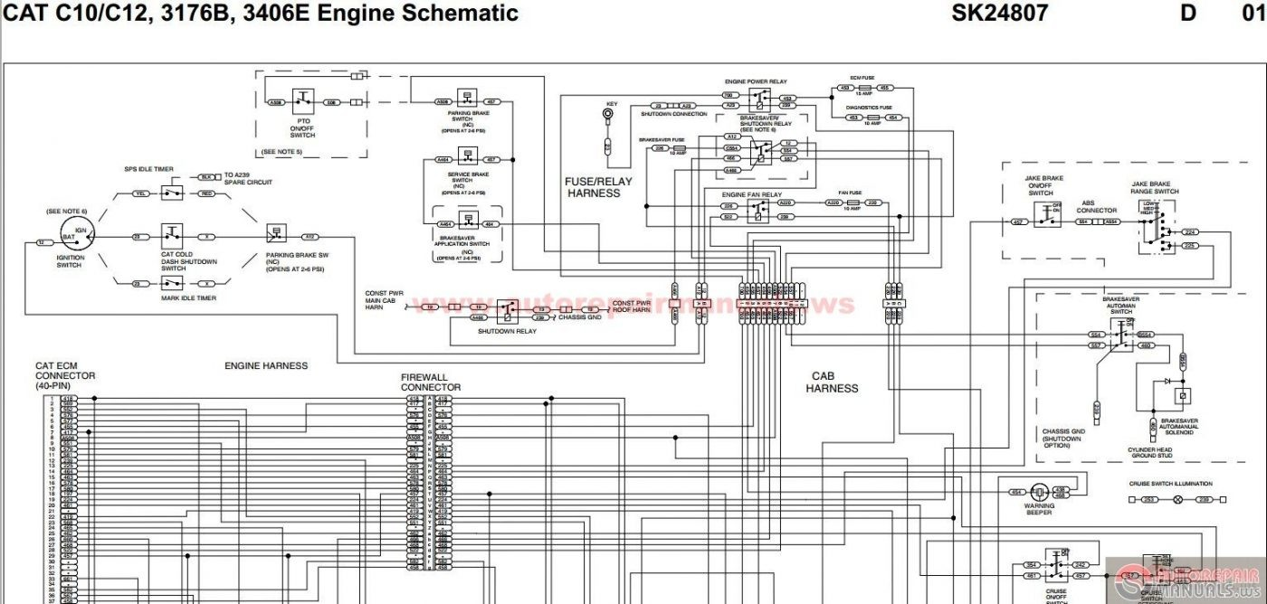 C15 Ecm Wiring Diagram Electrical Schematics House For You All U2022 Peterbilt 379