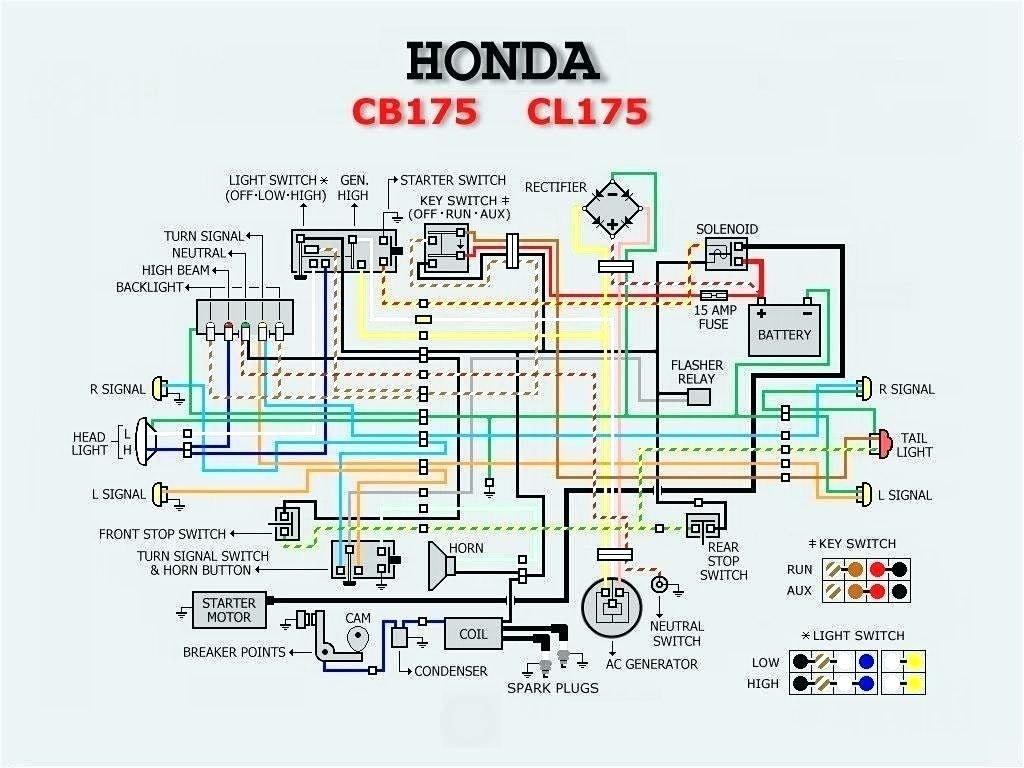 Diagram 1980 Honda Cb750f Wiring