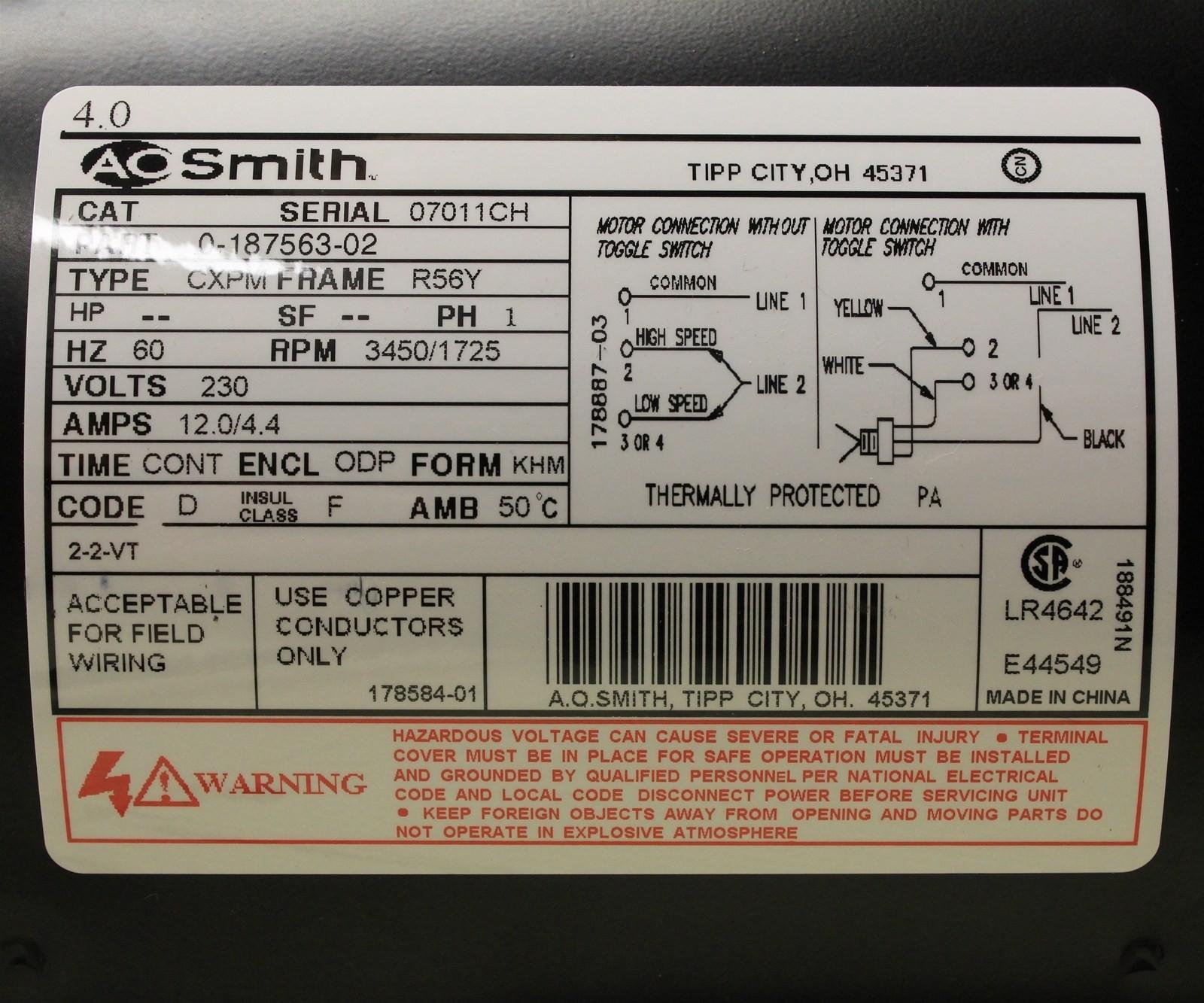 [DIAGRAM_5FD]  672 Century Ac Motor Wiring Diagram 115 230 Volts | Wiring Library | 115 Volt Ac Motor Wiring |  | Wiring Library