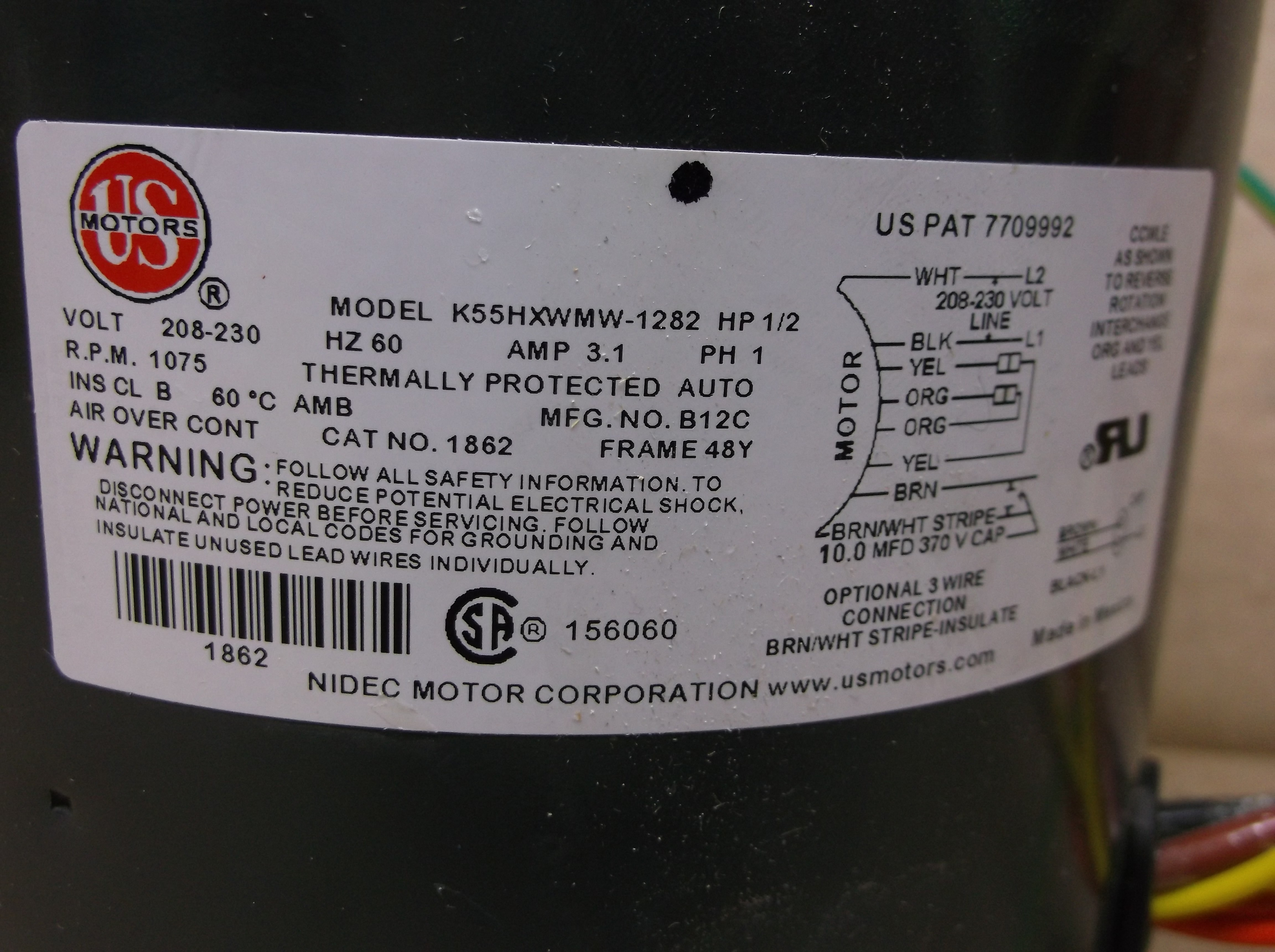 century ac motor wiring wiring diagrams page Motor Start Capacitor Wiring Diagram
