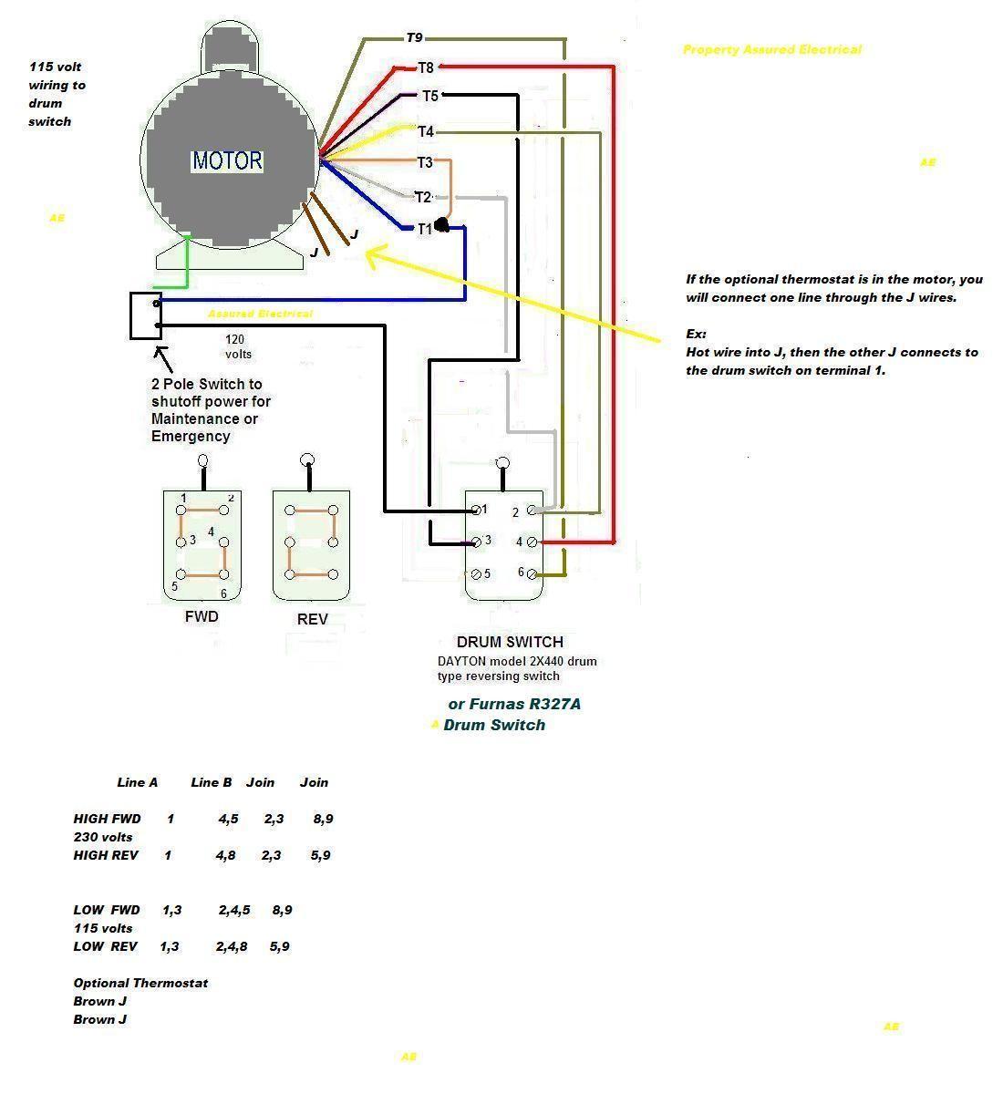 230 Single Phase Wiring Diagram Wiring Diagram