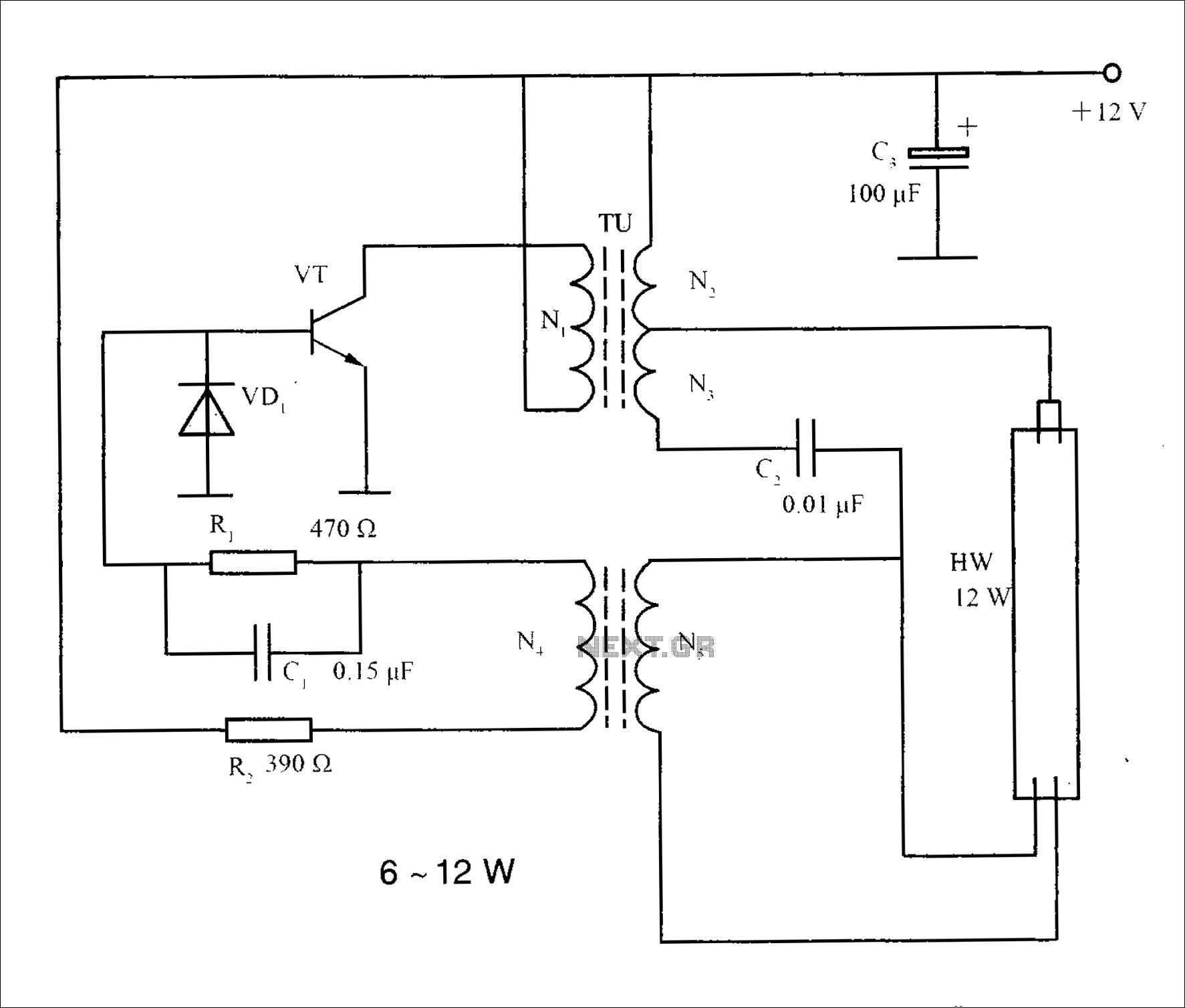 cfl circuits diagram