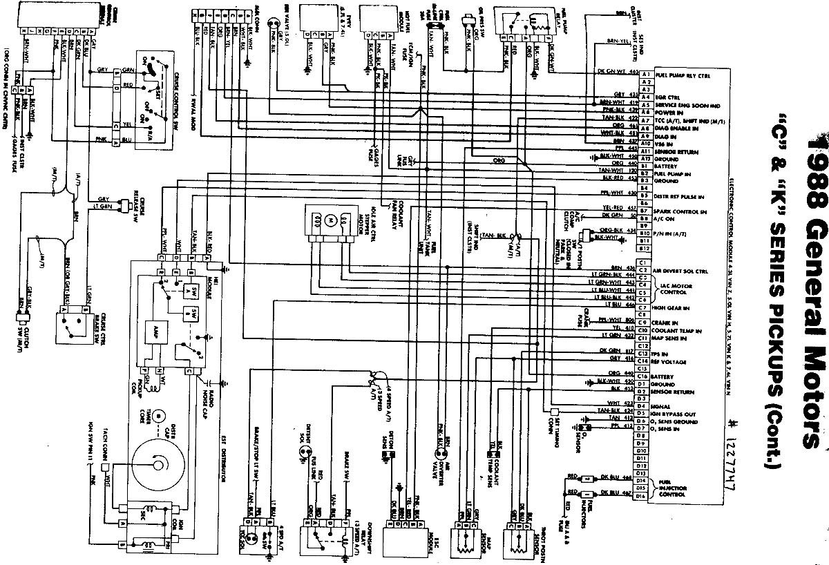 chevrolet s10 wiring diagram wiring diagram image rh mainetreasurechest com 1991 chevy truck wiring diagram 1991 chevy silverado tail light wiring diagram