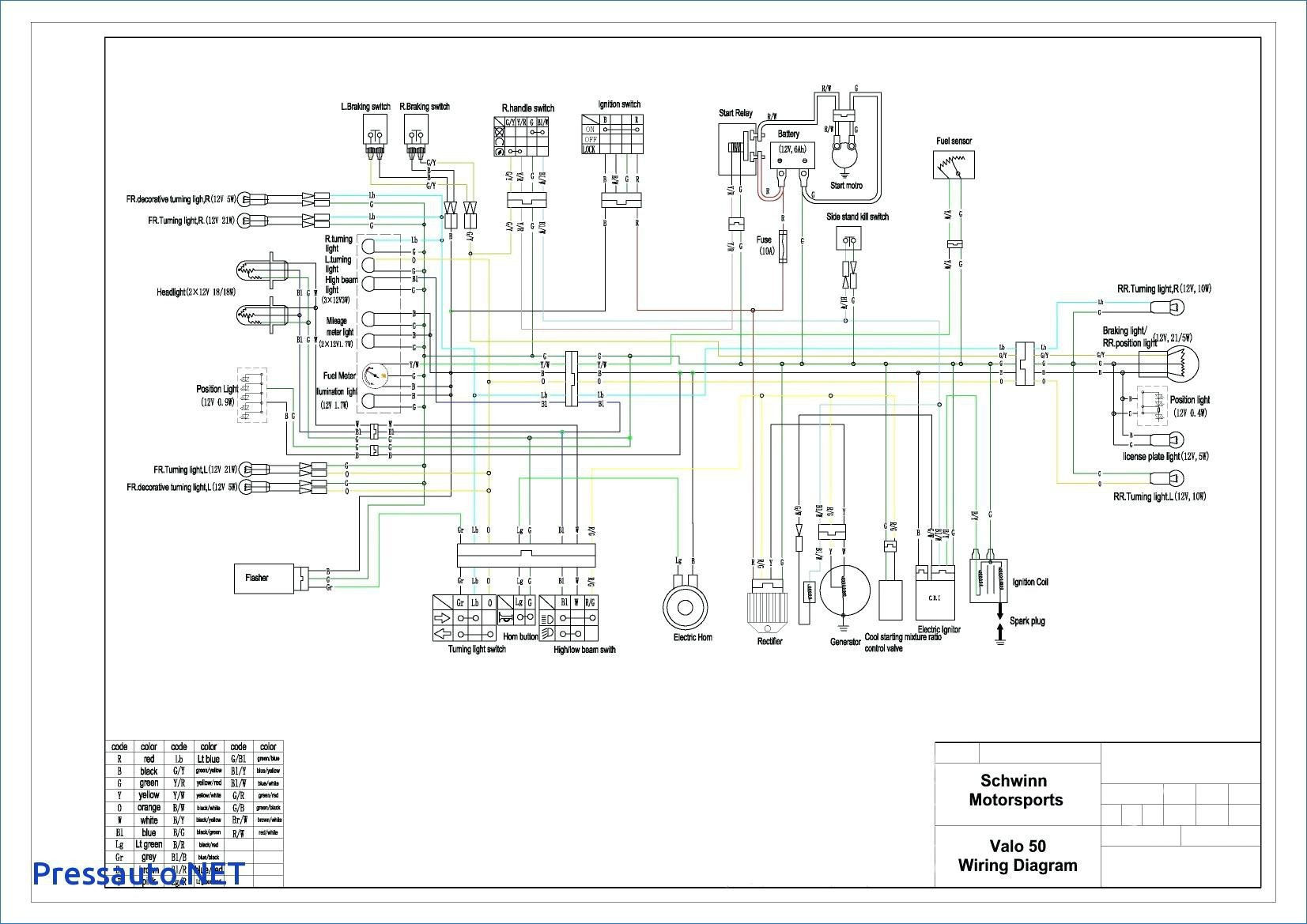 110cc Pit Bike Wiring Diagram Without Battery