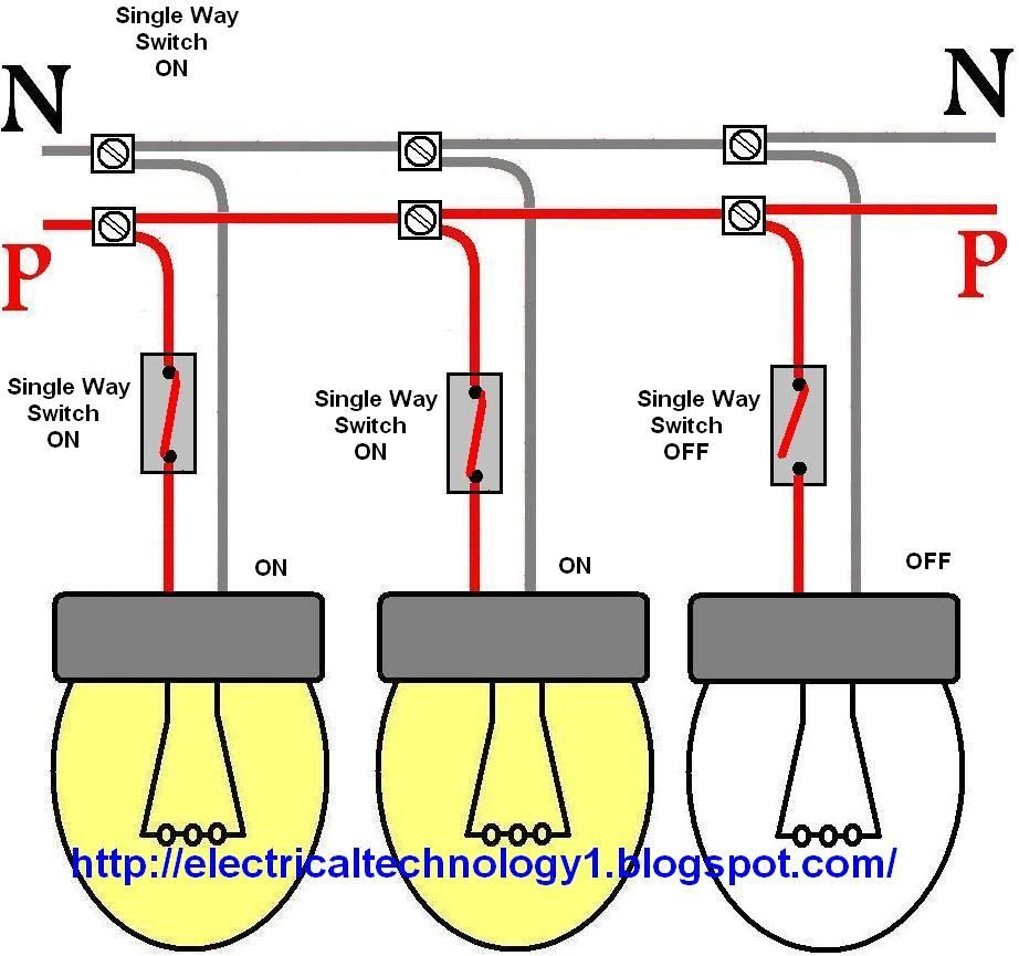 Wiring Up House Lights - Electrical Work Wiring Diagram •