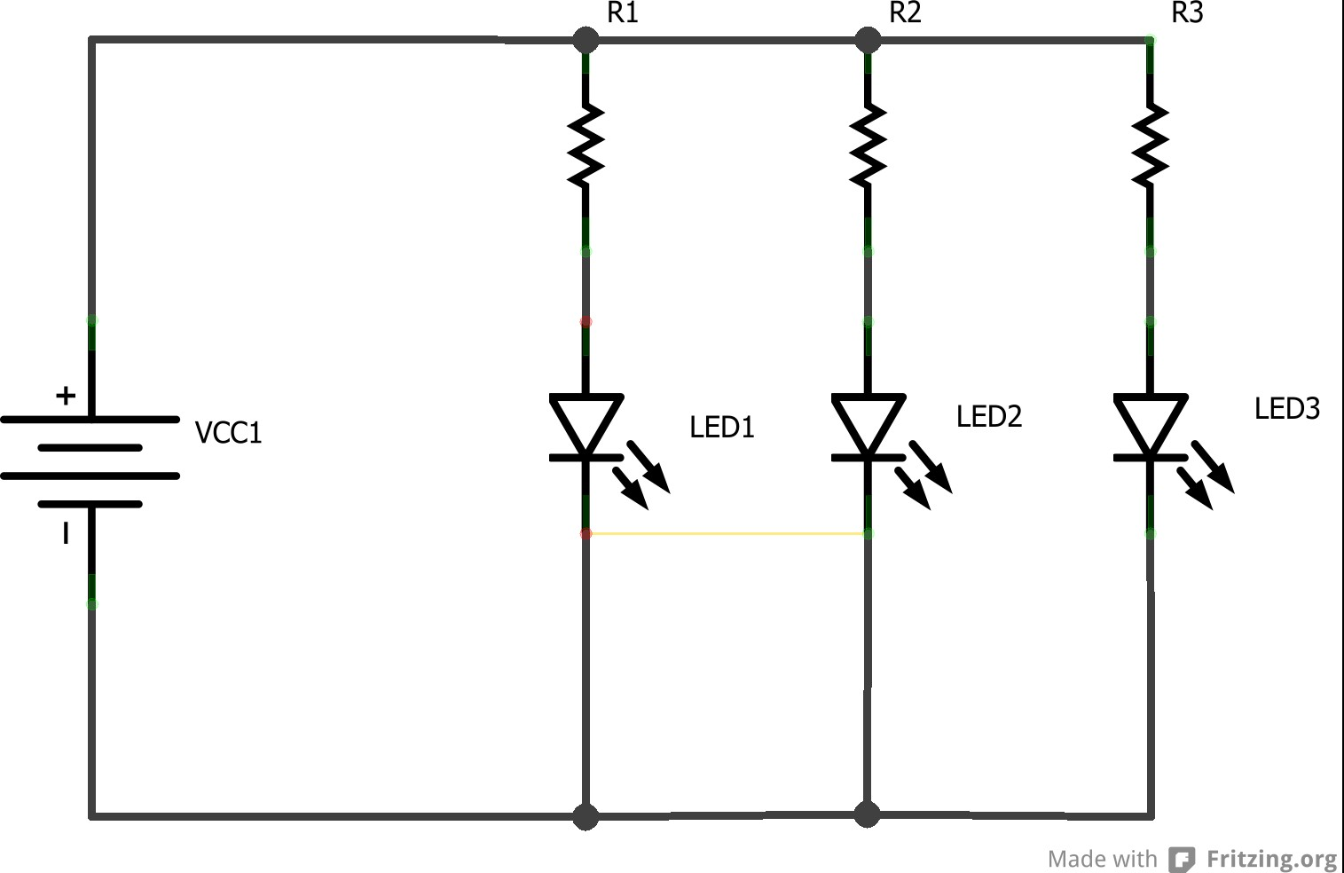 The Led – Christmas Lights Backward Workshop Parallel Circuit Diagram And Explanation Paralell Xmas V2