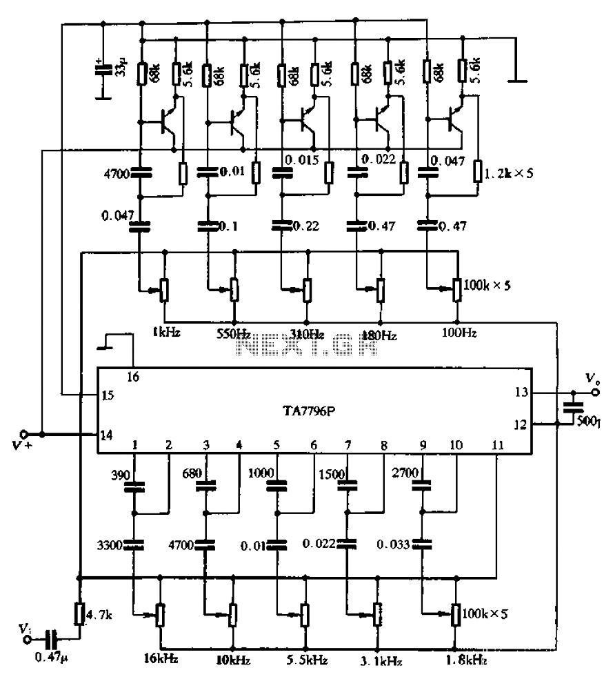 Circuit Diagram Practice New Wiring Image Equalizer Using An External Transistor Ten Band Schematic