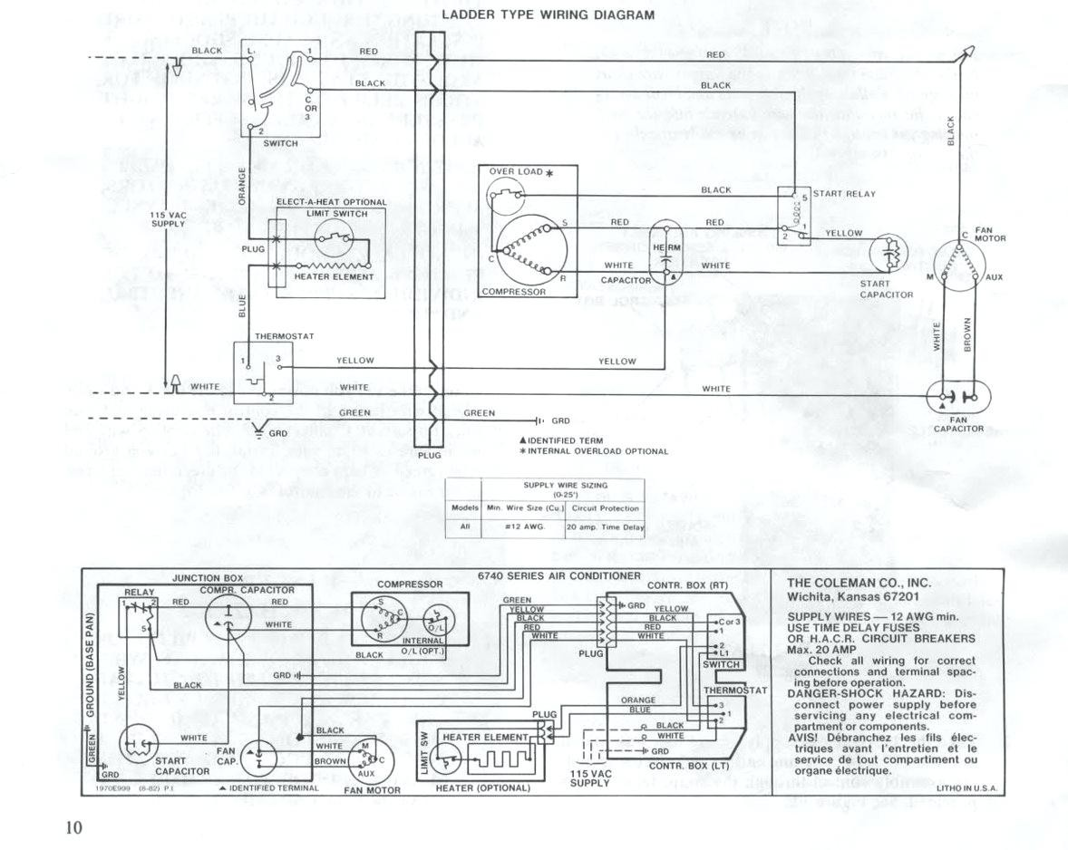Full Size of Mach Thermostat Wiring Diagram Coleman Archived Wiring Diagram Category With Post Coleman