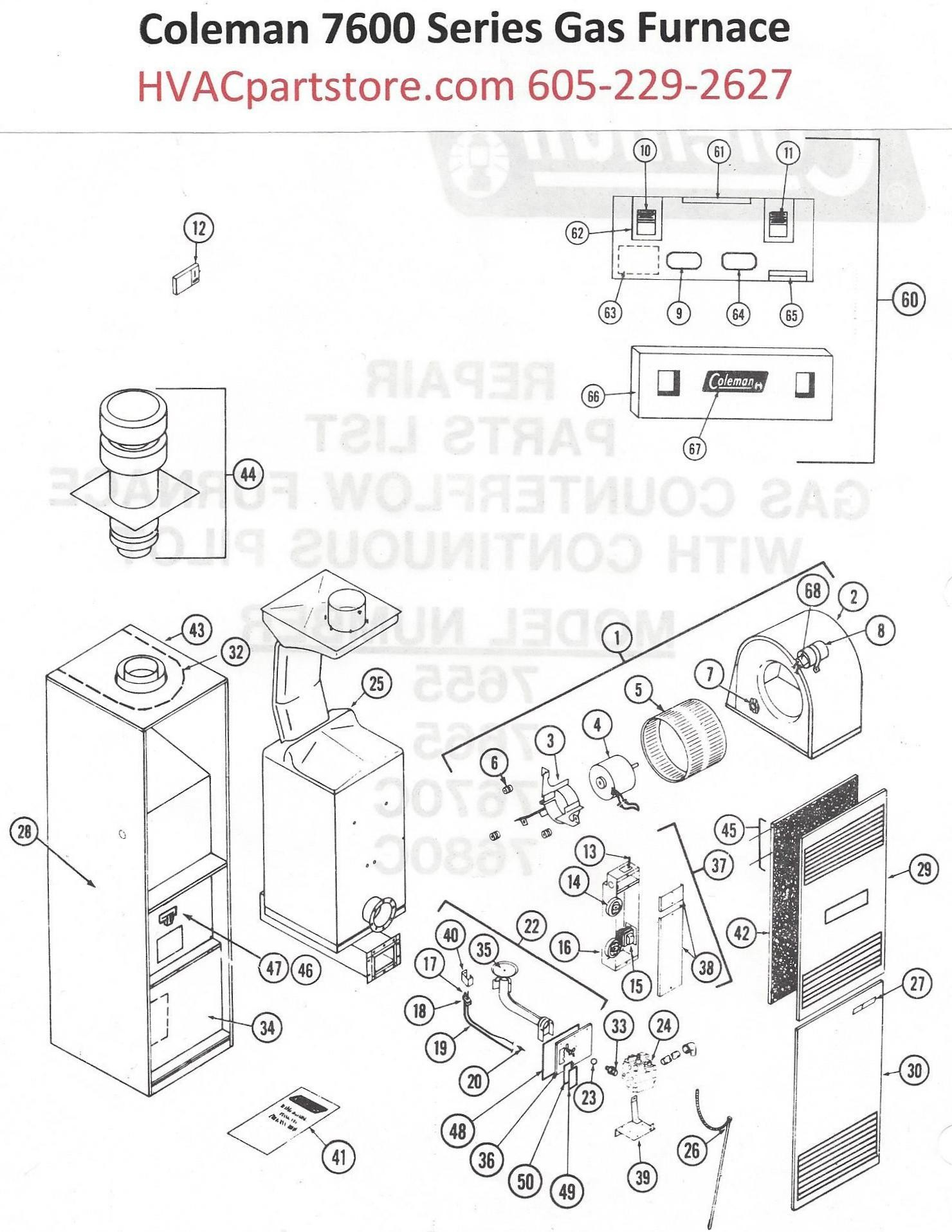 Preidential Coleman Furnace Wiring Diagram on