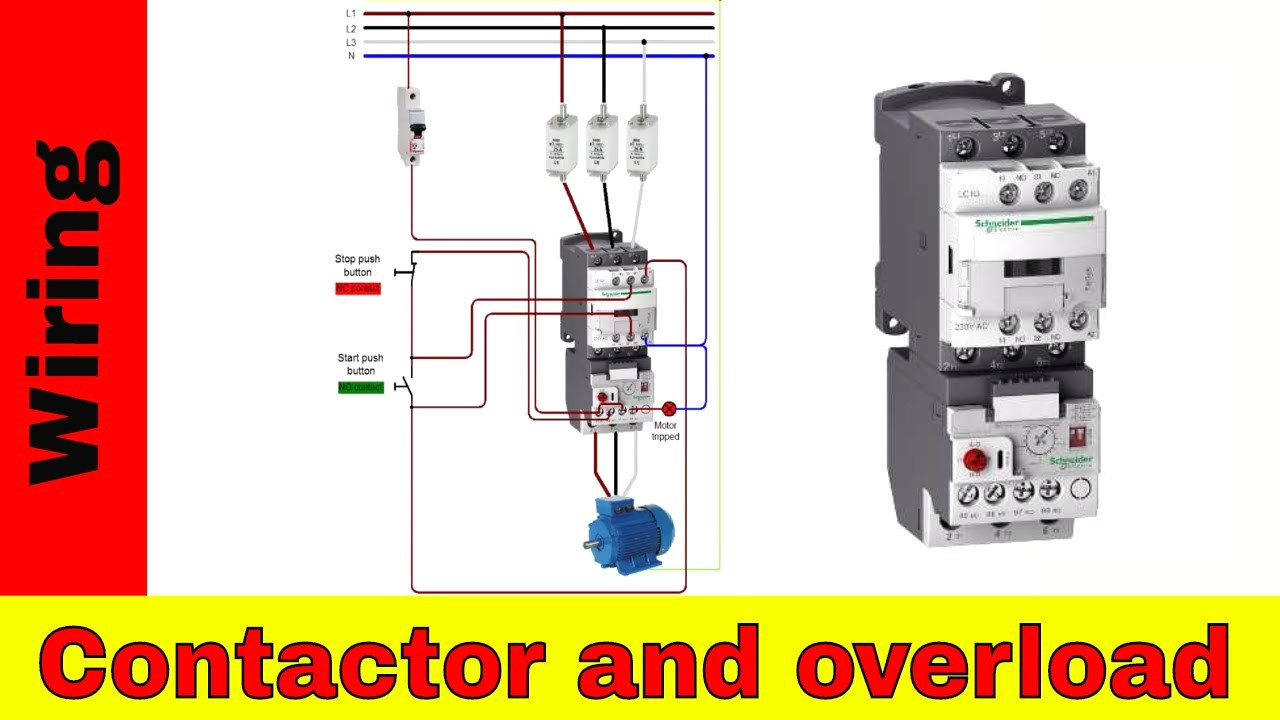 Eaton Reversing Contactor Wiring Diagram Simple Guide About Starter How To Wire A Single Phase Motor Impremedia Net Cutler Hammer