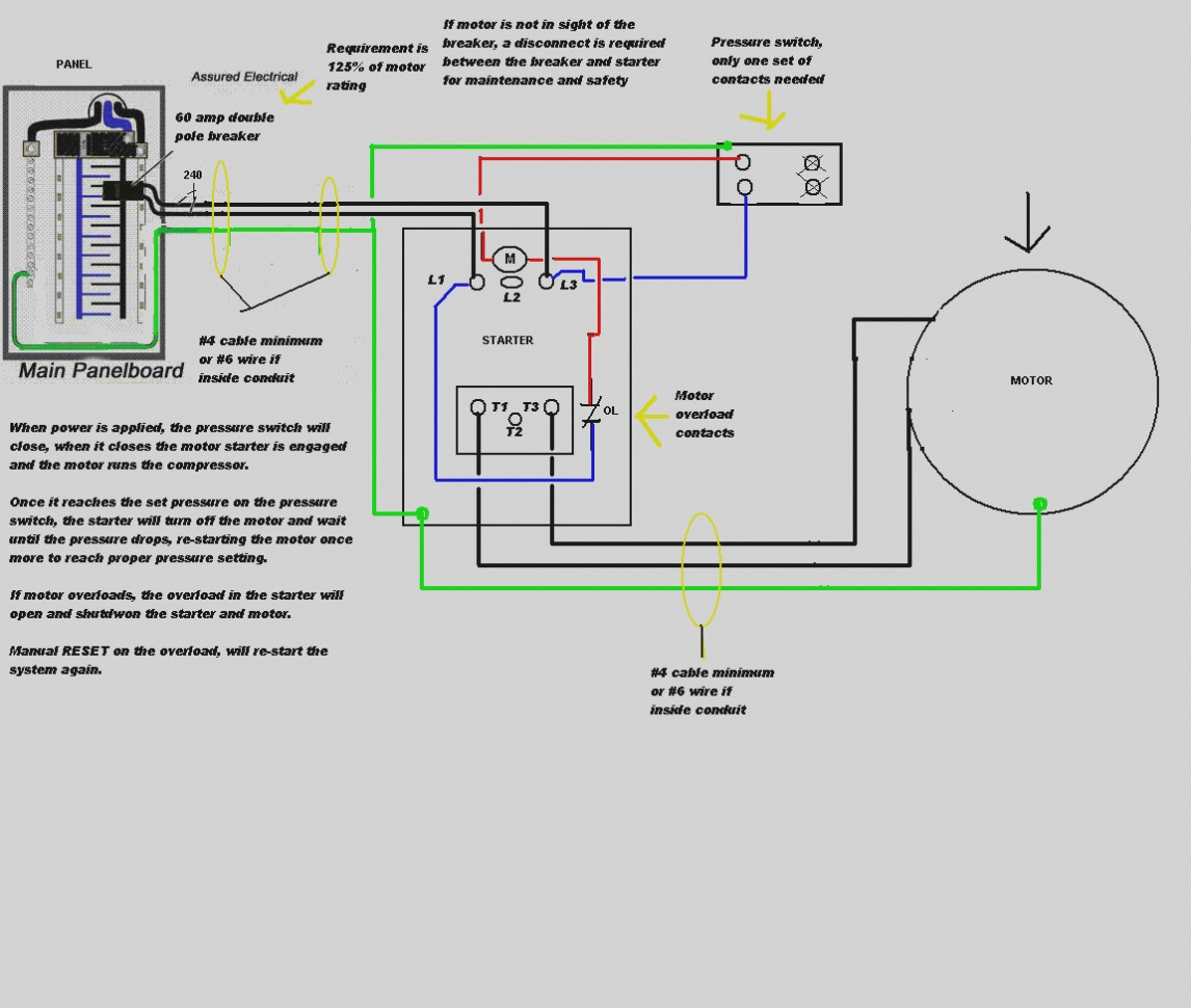 A0008 Single Phase Contactor Wiring Diagram Need To ...
