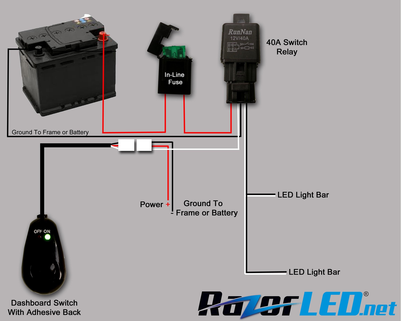 Cree Light Bar Wiring Diagram Webtor Me Throughout For