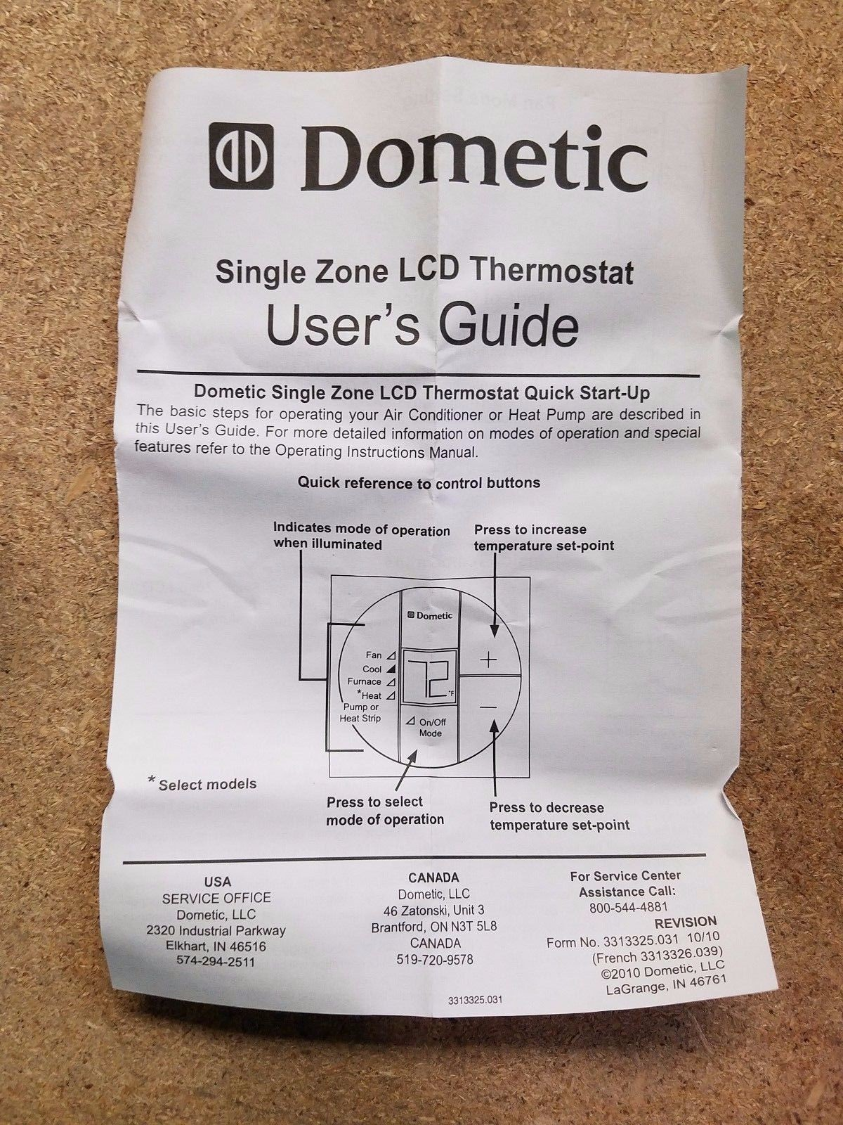 Dometic Lcd Thermostat Wiring Diagram Solutions 3313192 Single Zone Unique