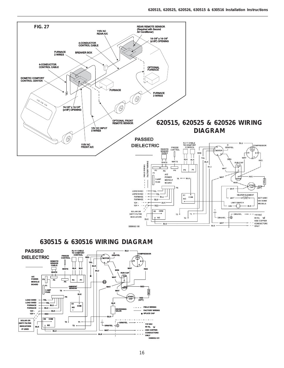 Dometic Thermostat Wiring Diagram Awesome Image Rv Duo Therm Ac Free Contemporary