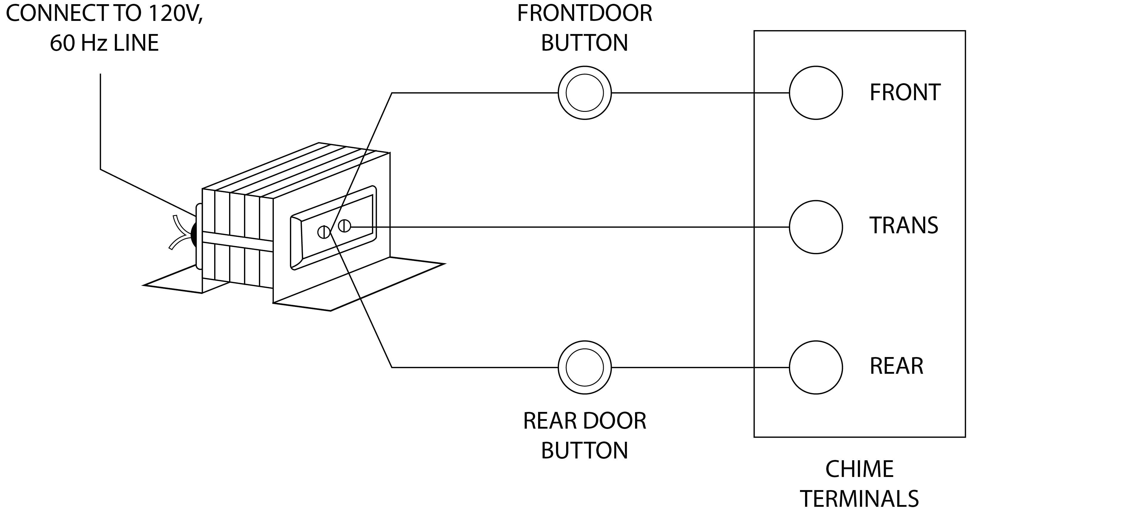 Nutone Scovill Doorbell Wiring Diagram
