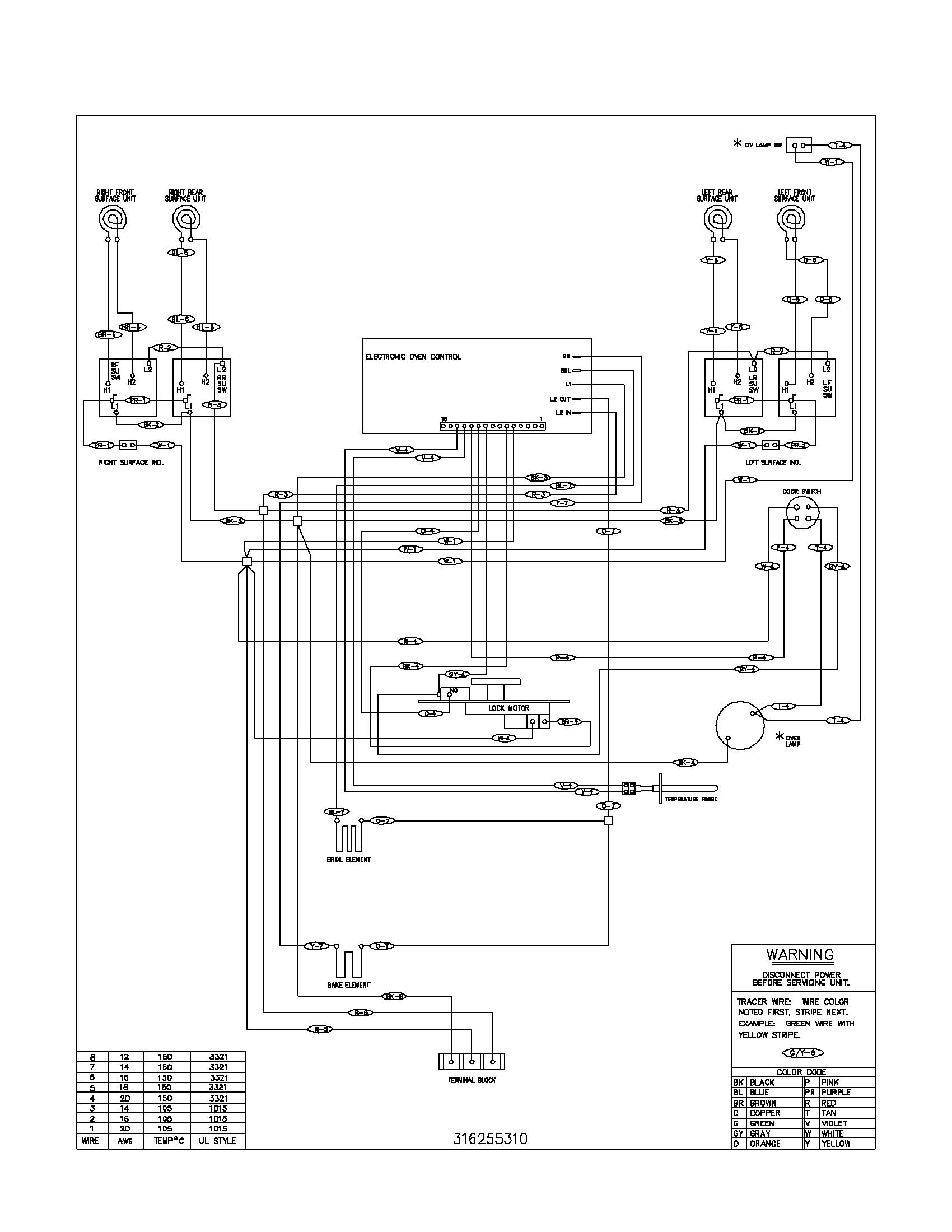 frigidaire gas range wiring diagram data wiring diagrams u2022 rh mikeadkinsguitar com Range Hood Wiring Diagram wiring diagram for frigidaire wall oven