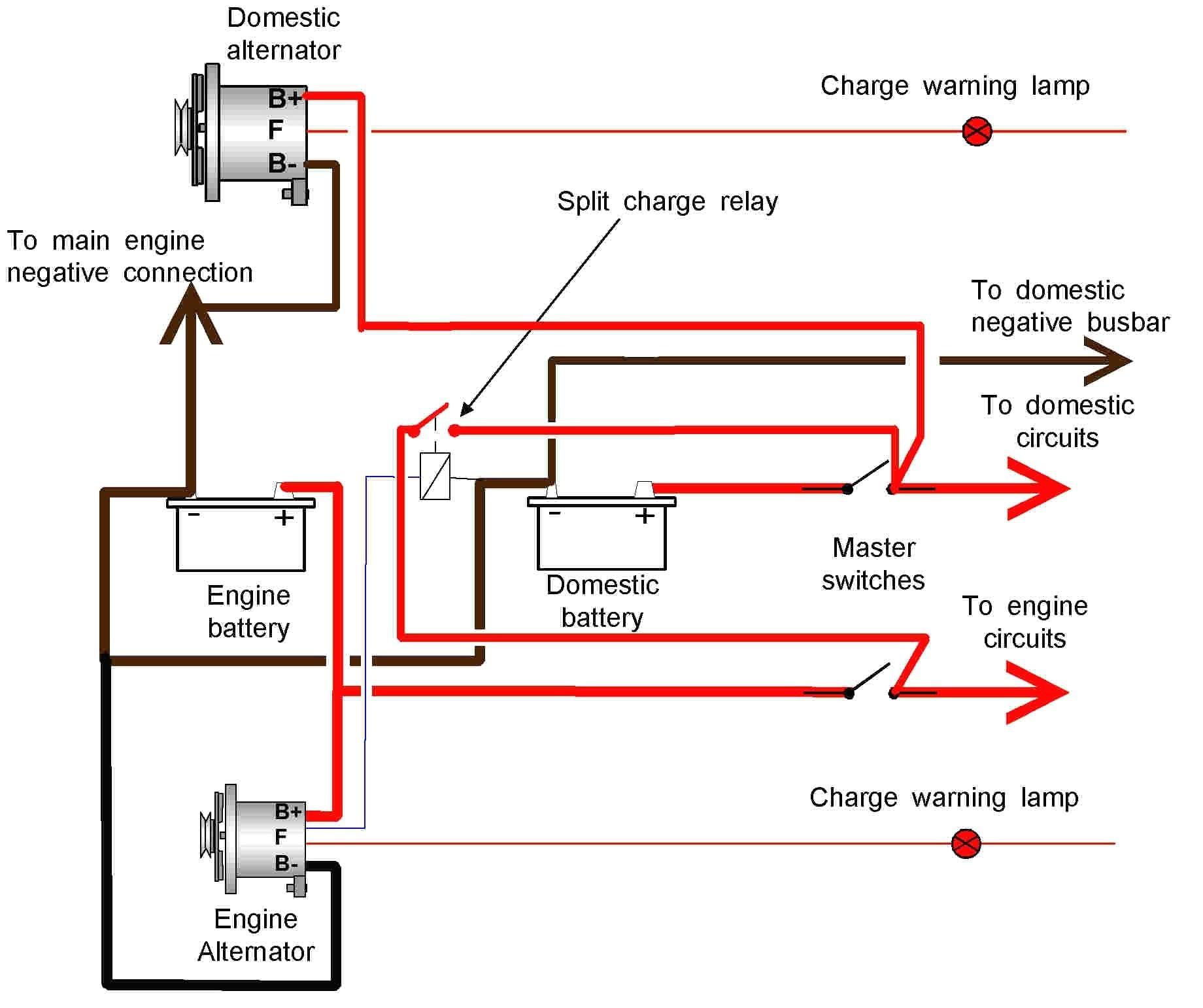 Gm Dual Alternator Schematic - Wiring Library