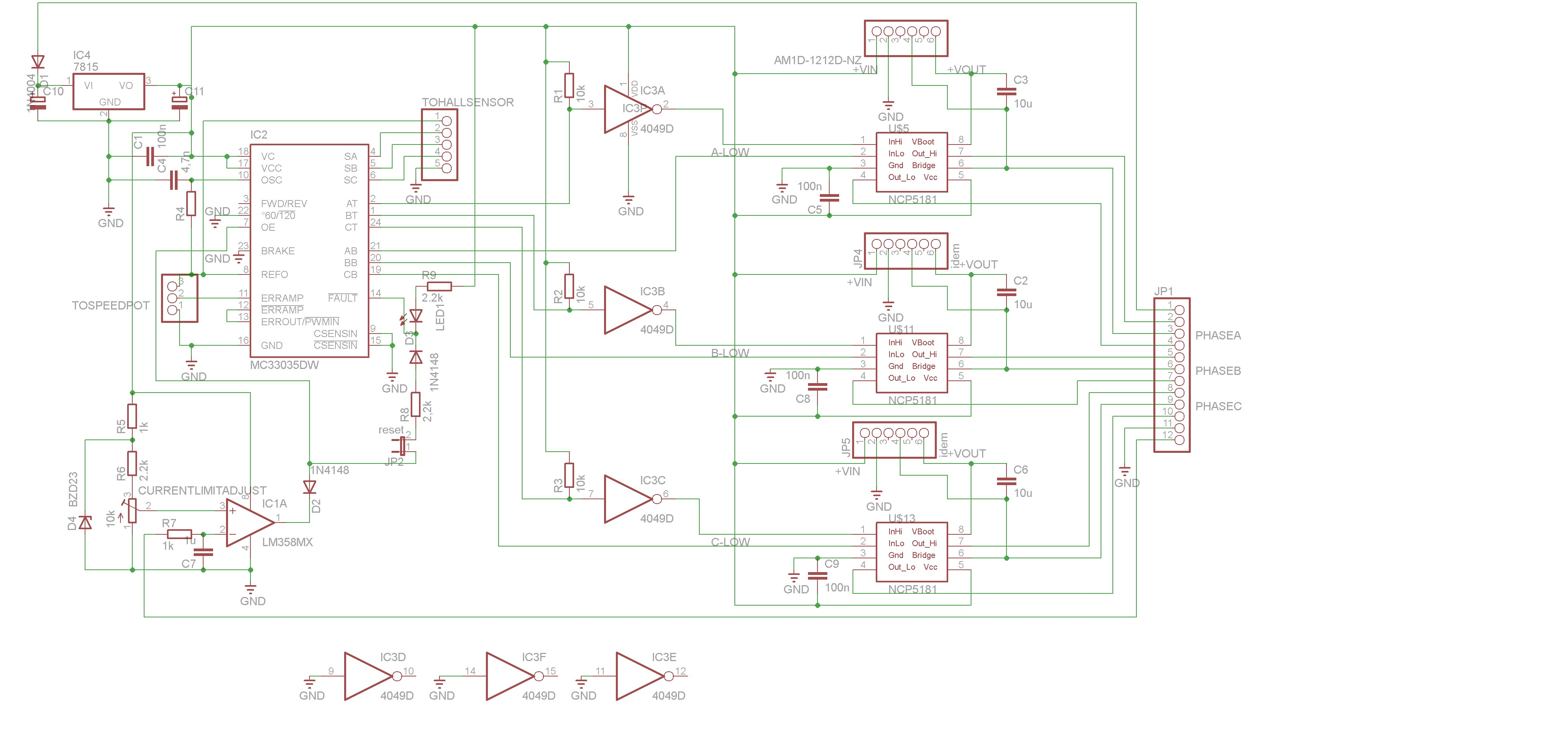e bike controller schematic