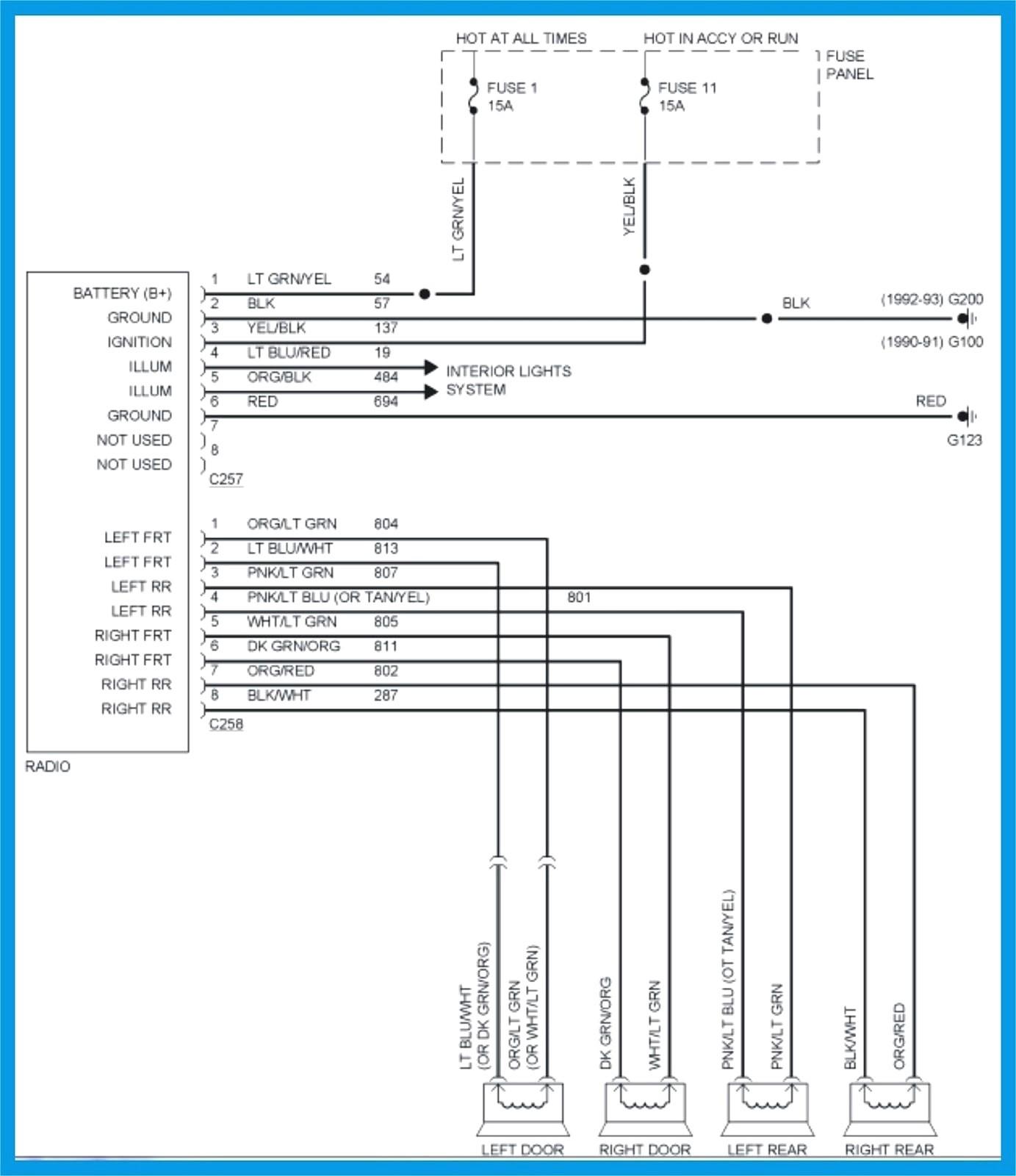 2016 Ram 1500 Radio Wiring Diagram