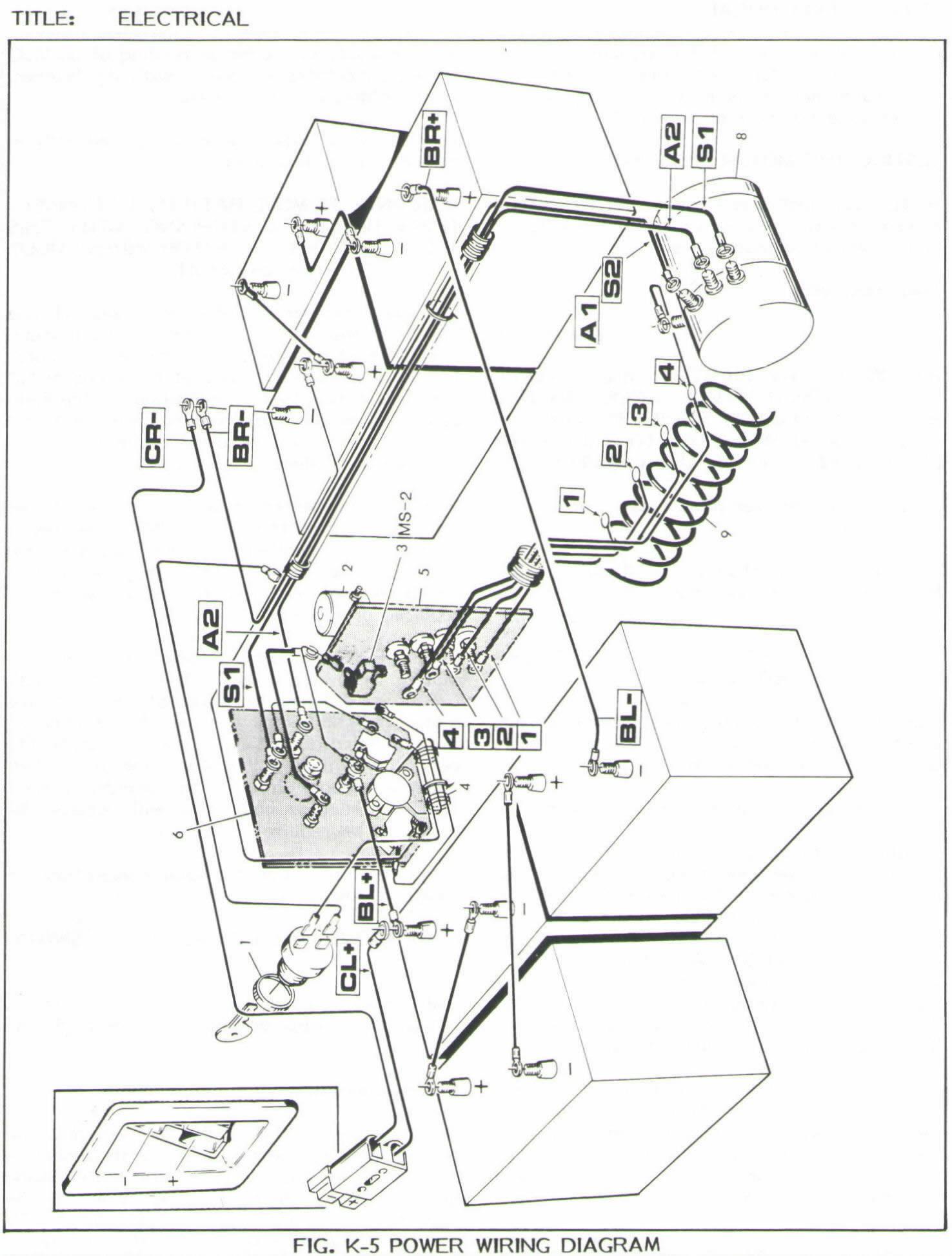best of ezgo wiring diagram