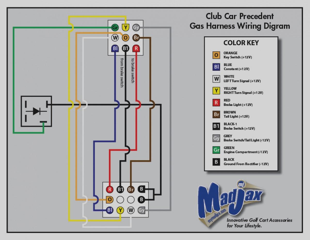 Club Car Gas Golf Cart Wiring Diagram