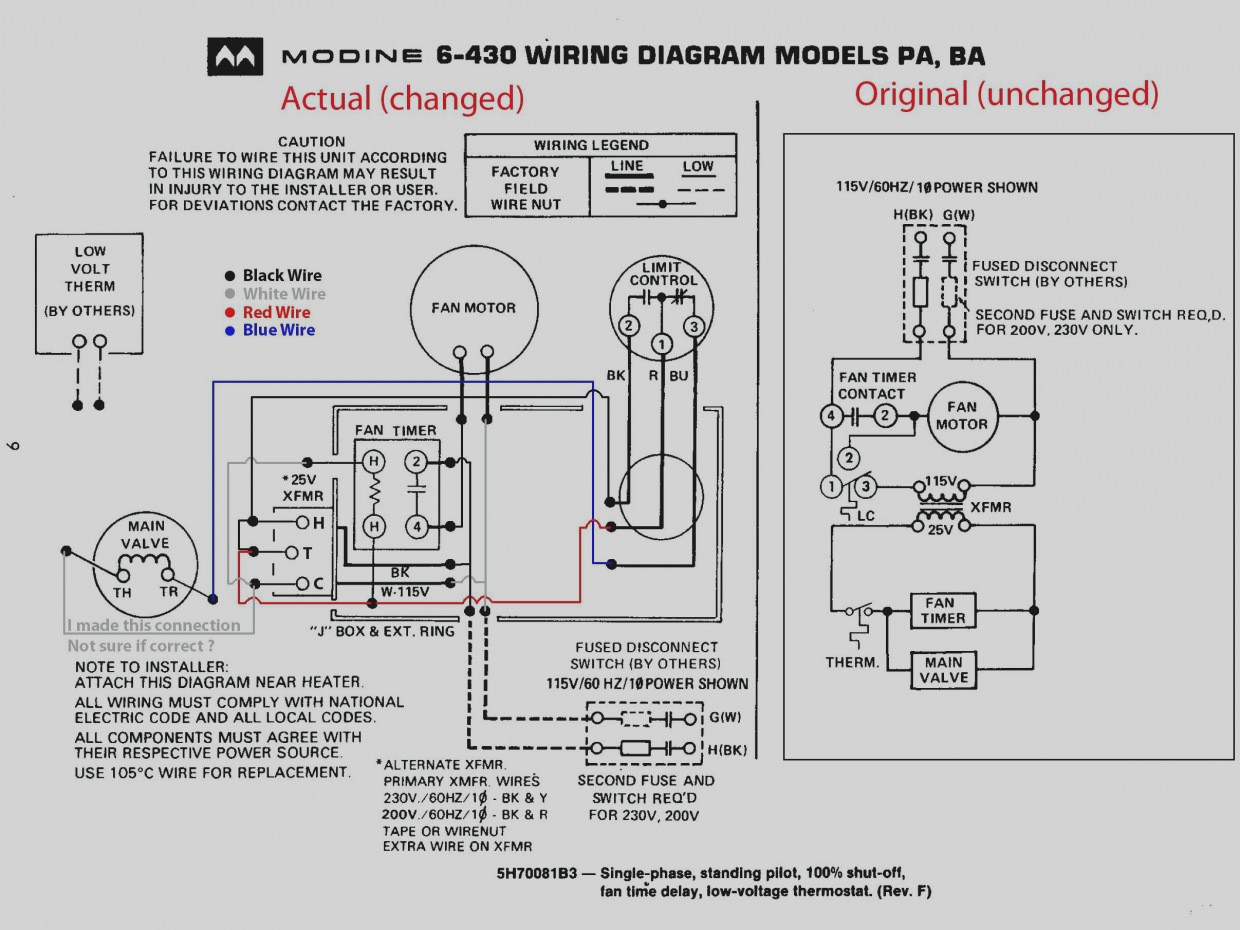 New Baseboard Heater Wiring Diagram Electric Copy