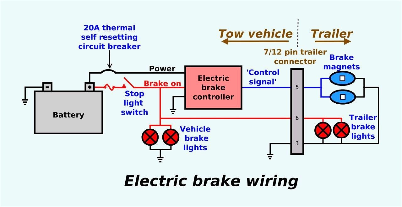 Redline Brake Controller Wiring Diagram Amazing To Trailer Inside With