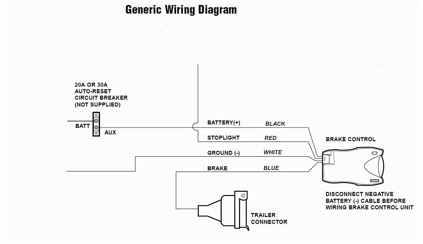 Trailer Brake Wiring Diagram Printable - Wiring Diagram Database