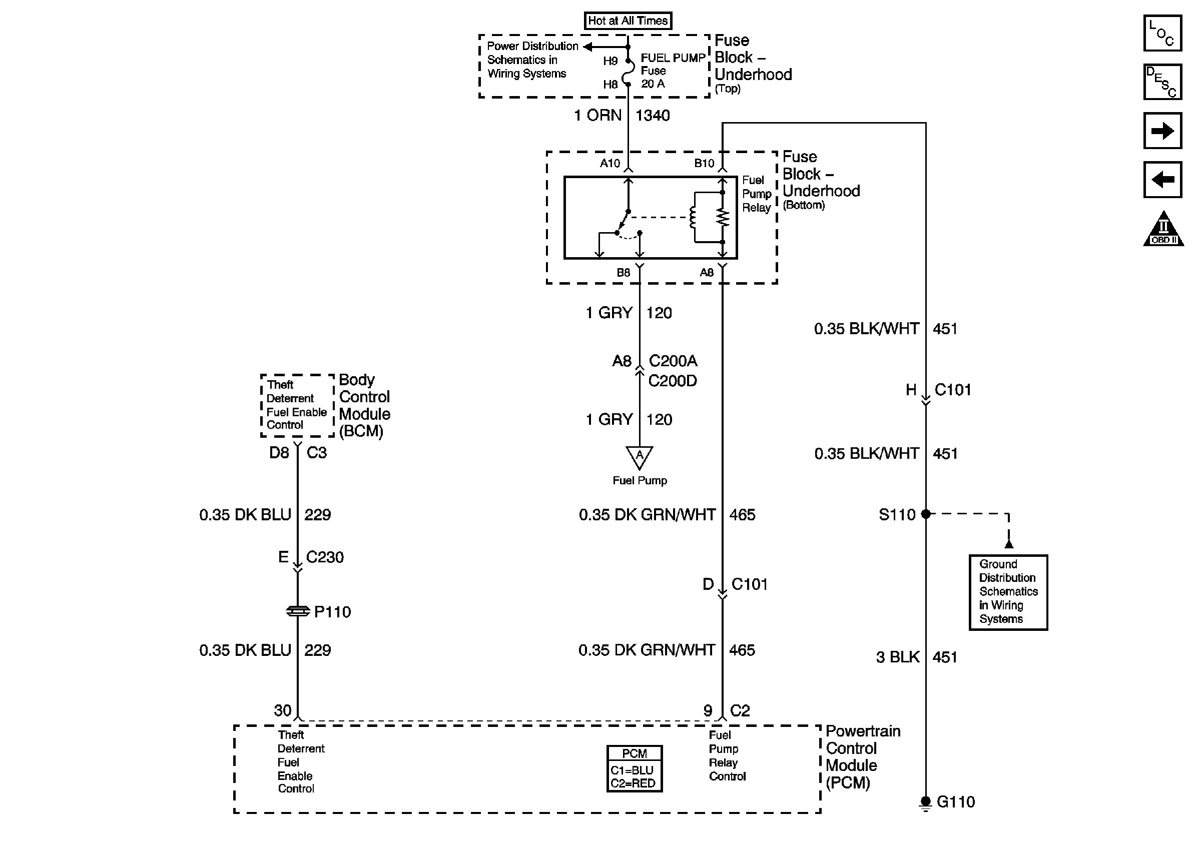Electric Fuel Pump Relay Wiring Diagram - Wiring Library