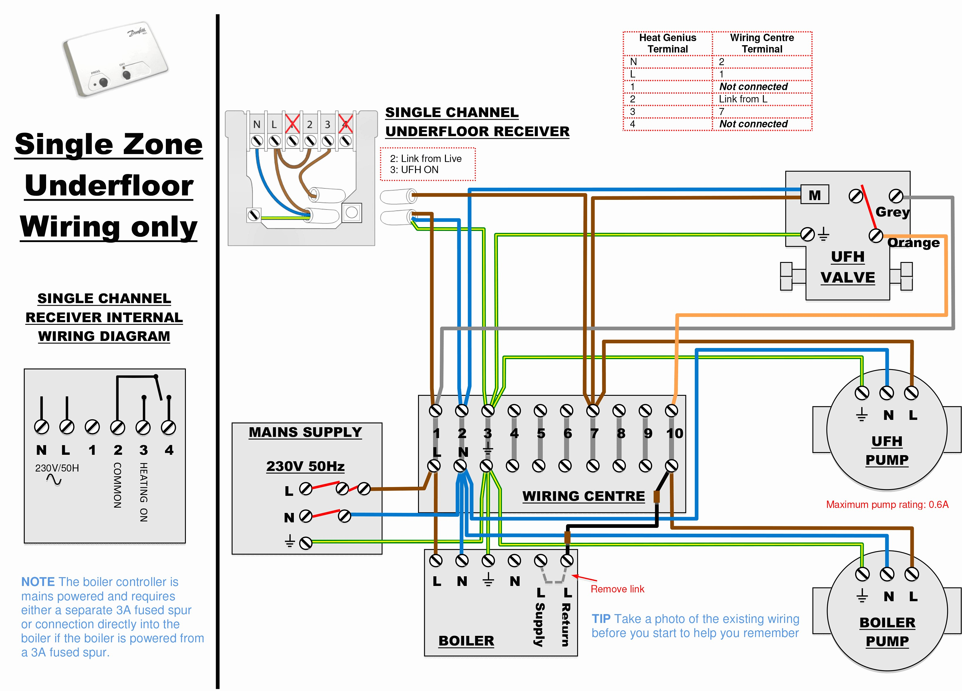 Central Heating Boiler Wiring Diagrams Circuit And Schematics How To Wire Water Heater Thermostat Readingrat Net