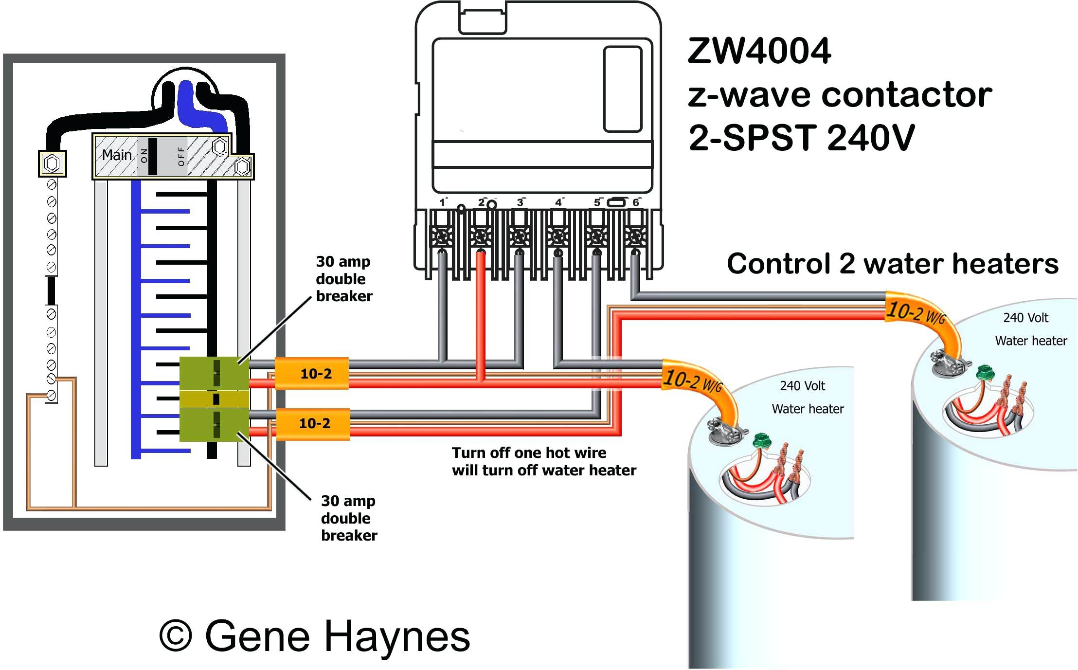 Full Size of Gas Hot Water Heater Thermostat Wiring Diagram How To Wire Z Wave Basics